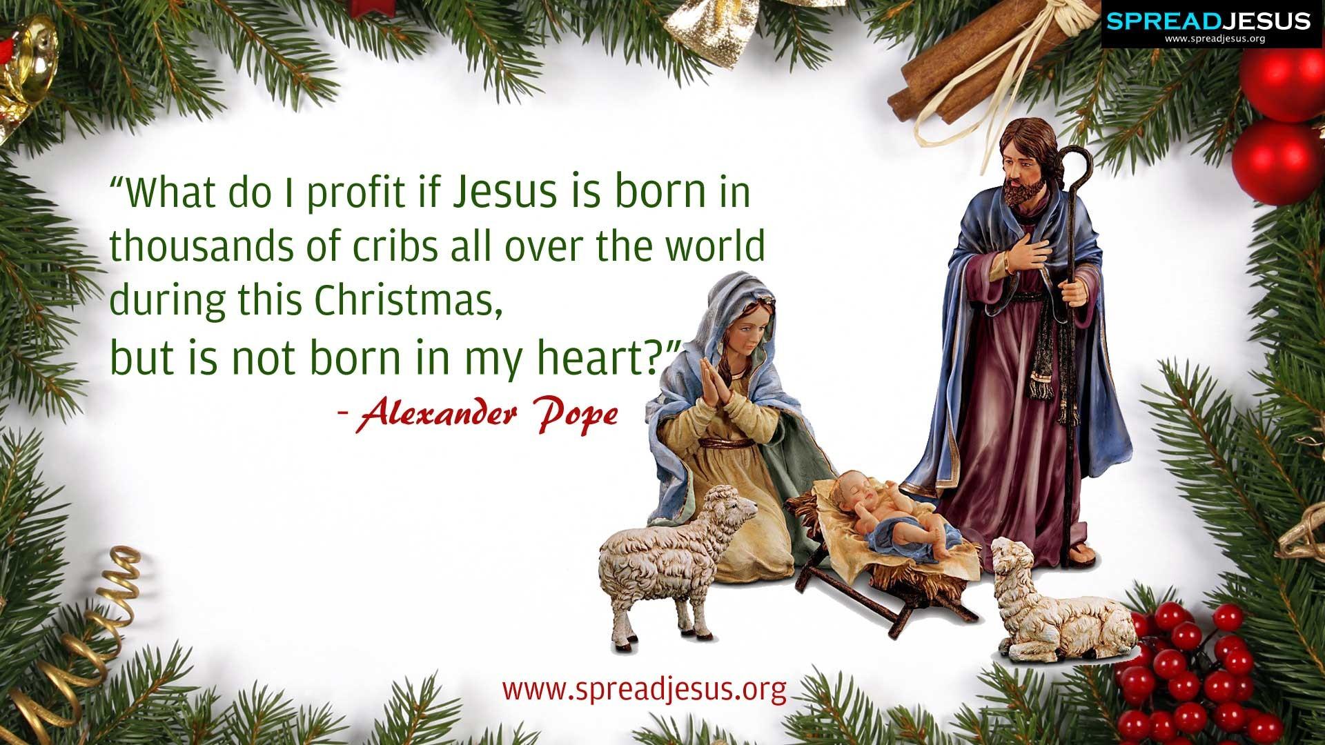 Merry Christmas Jesus Wallpaper (10)