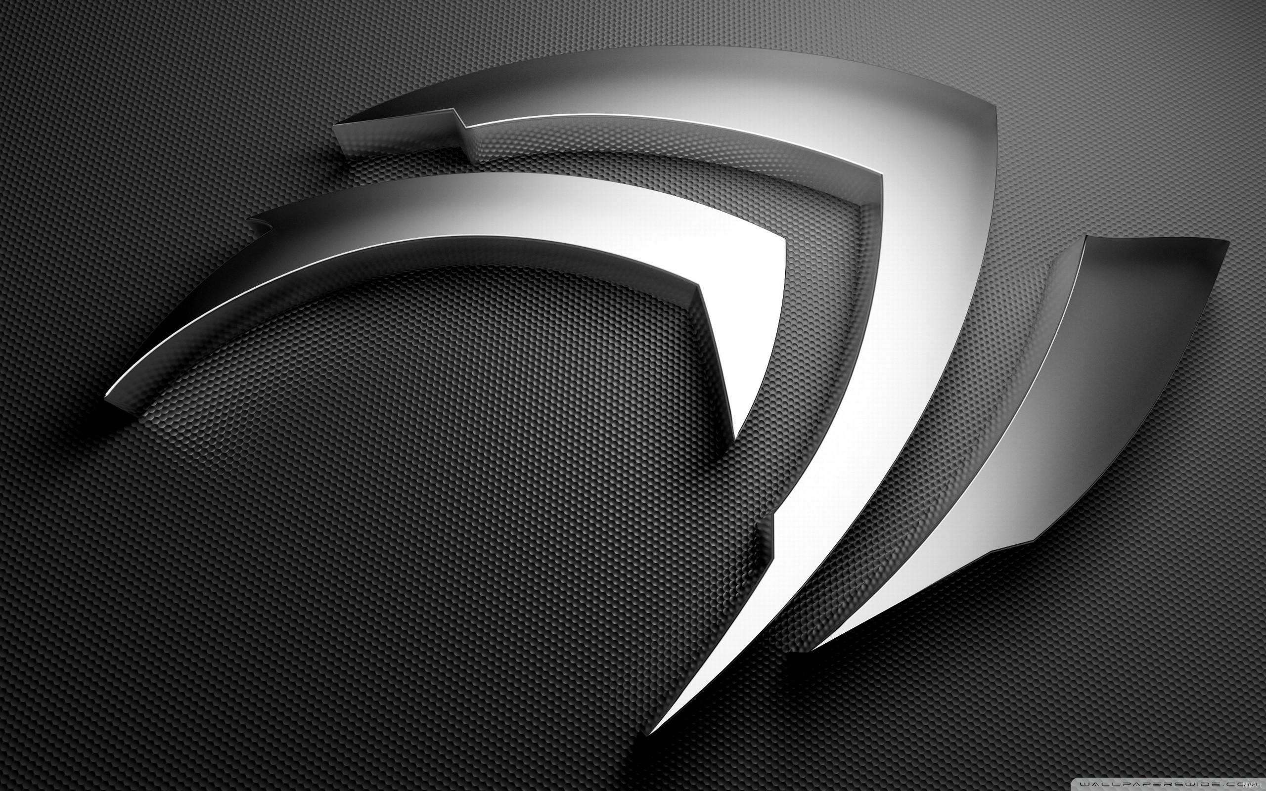 nVidia, Gray HD Wide Wallpaper for Widescreen