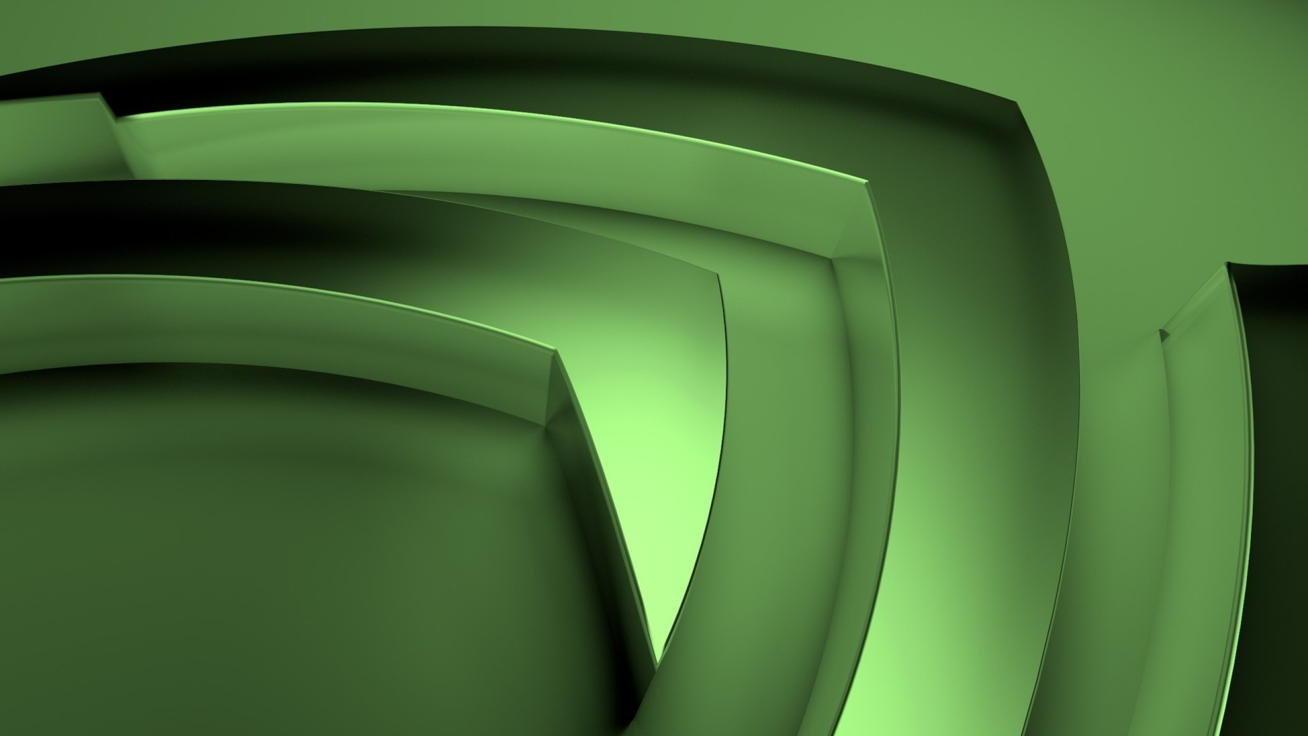Preview wallpaper nvidia, logo, brand, technology, graphics cards,  processors 2560×1440