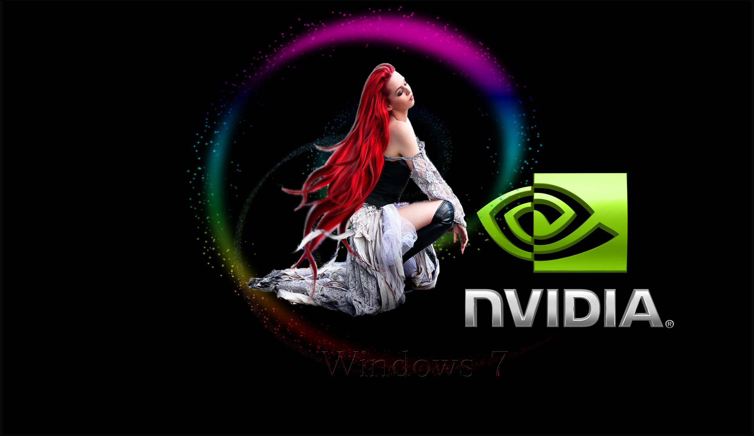 Win 7 Nvidia Wallpaper by kubines on DeviantArt