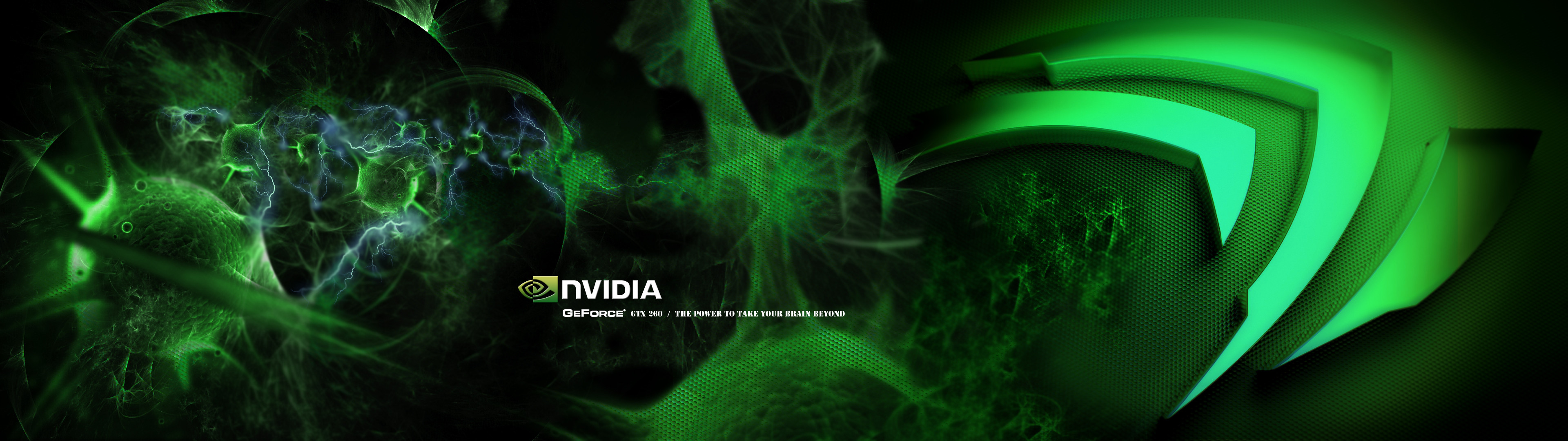 NVIDIA Triple Monitor Wallpaper