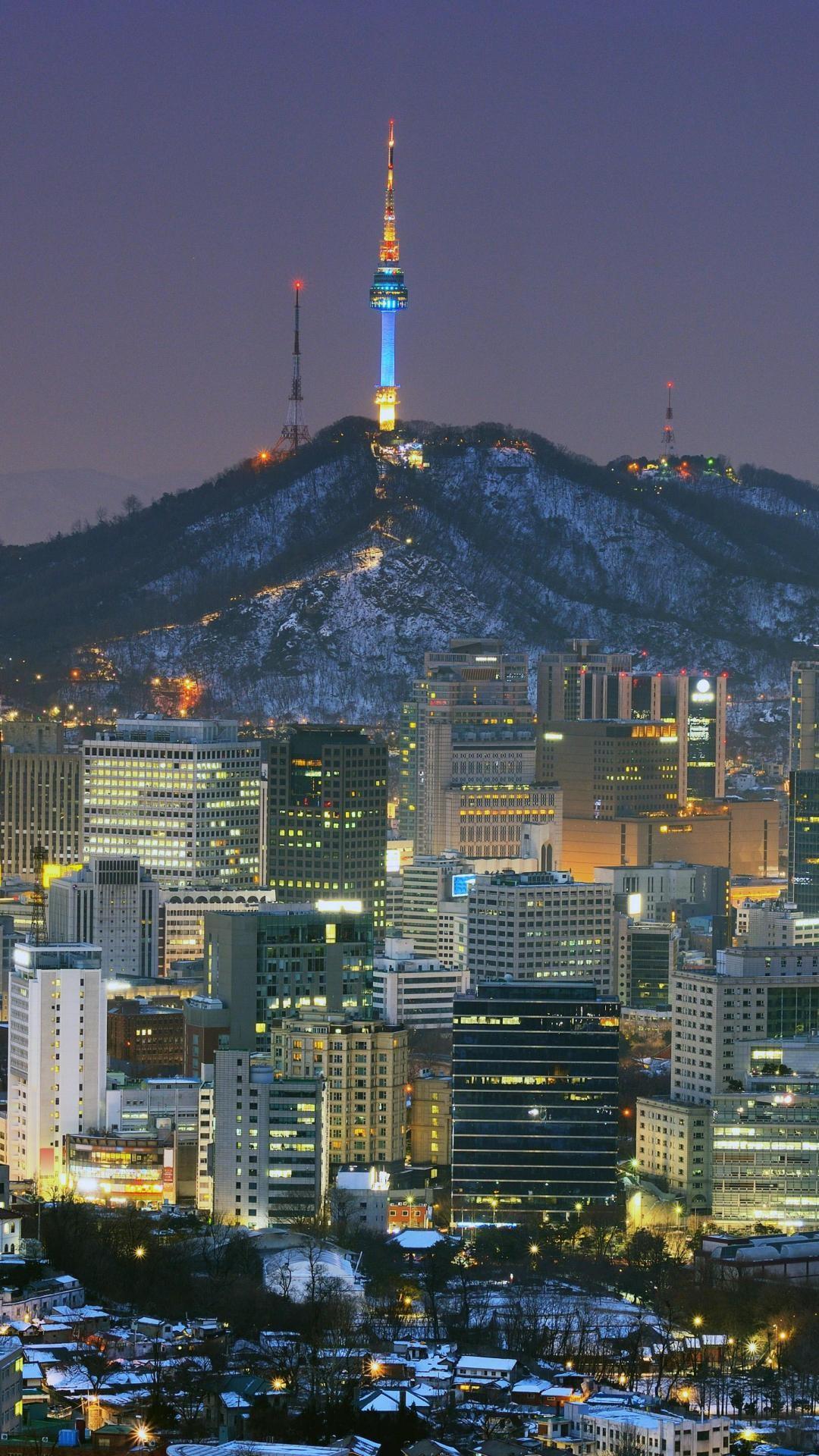 Seoul hd wallpaper for iPhone 6 plus