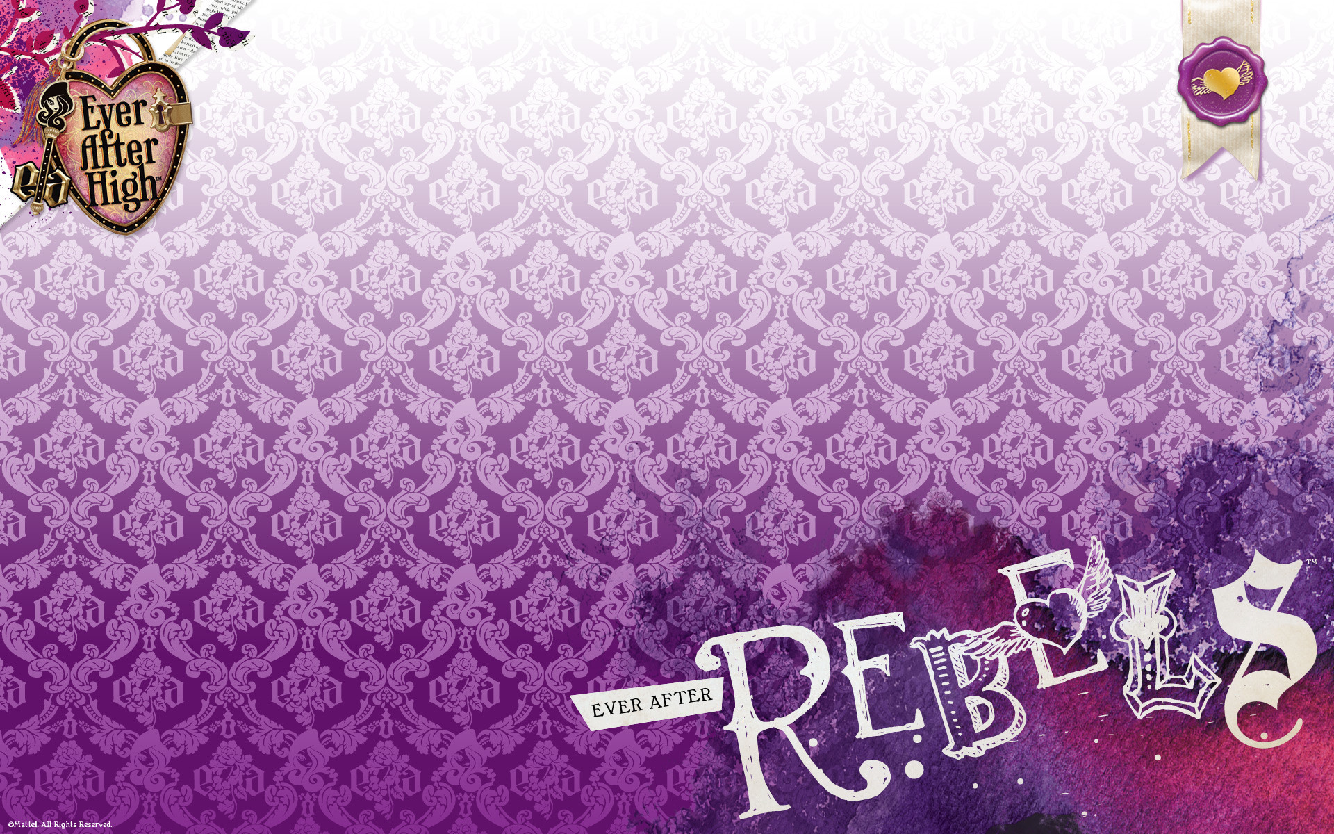 Explore Raven Queen, Ever After High, and more! Rebel wallpaper