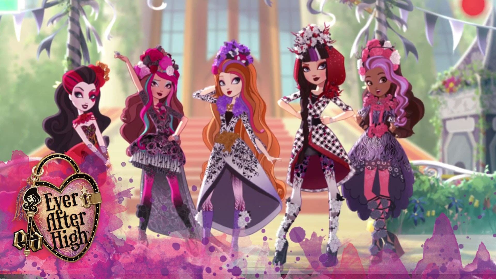 Spring Unsprung: Spellbinding Spring Fashions | Ever After High™ – YouTube