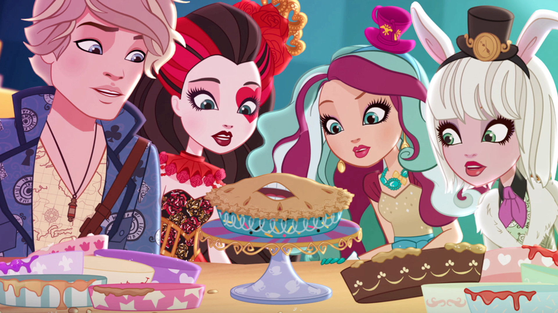 Ever After High Spring Unsprung Viewing Party and Movie Review