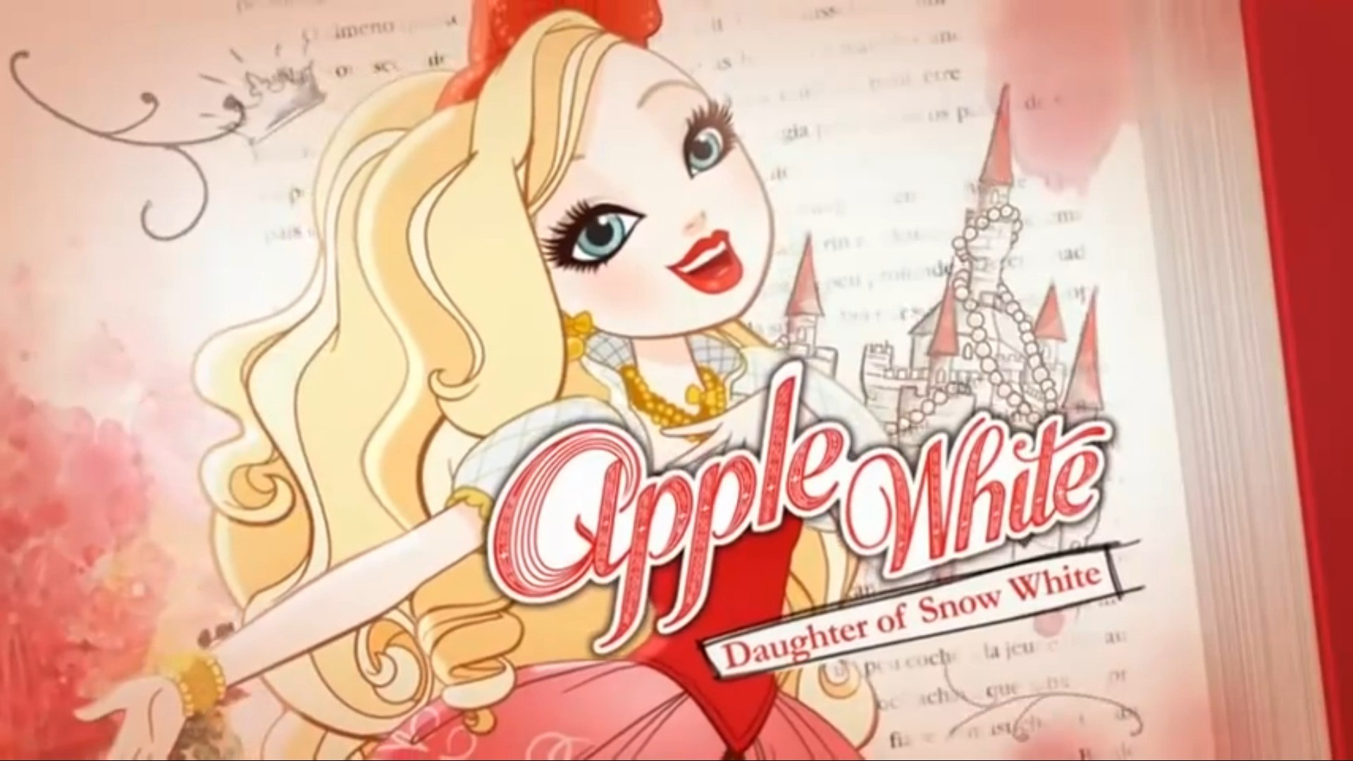 RP blog for Apple White from Ever After High [[UNDER CONSTRUCTION]]