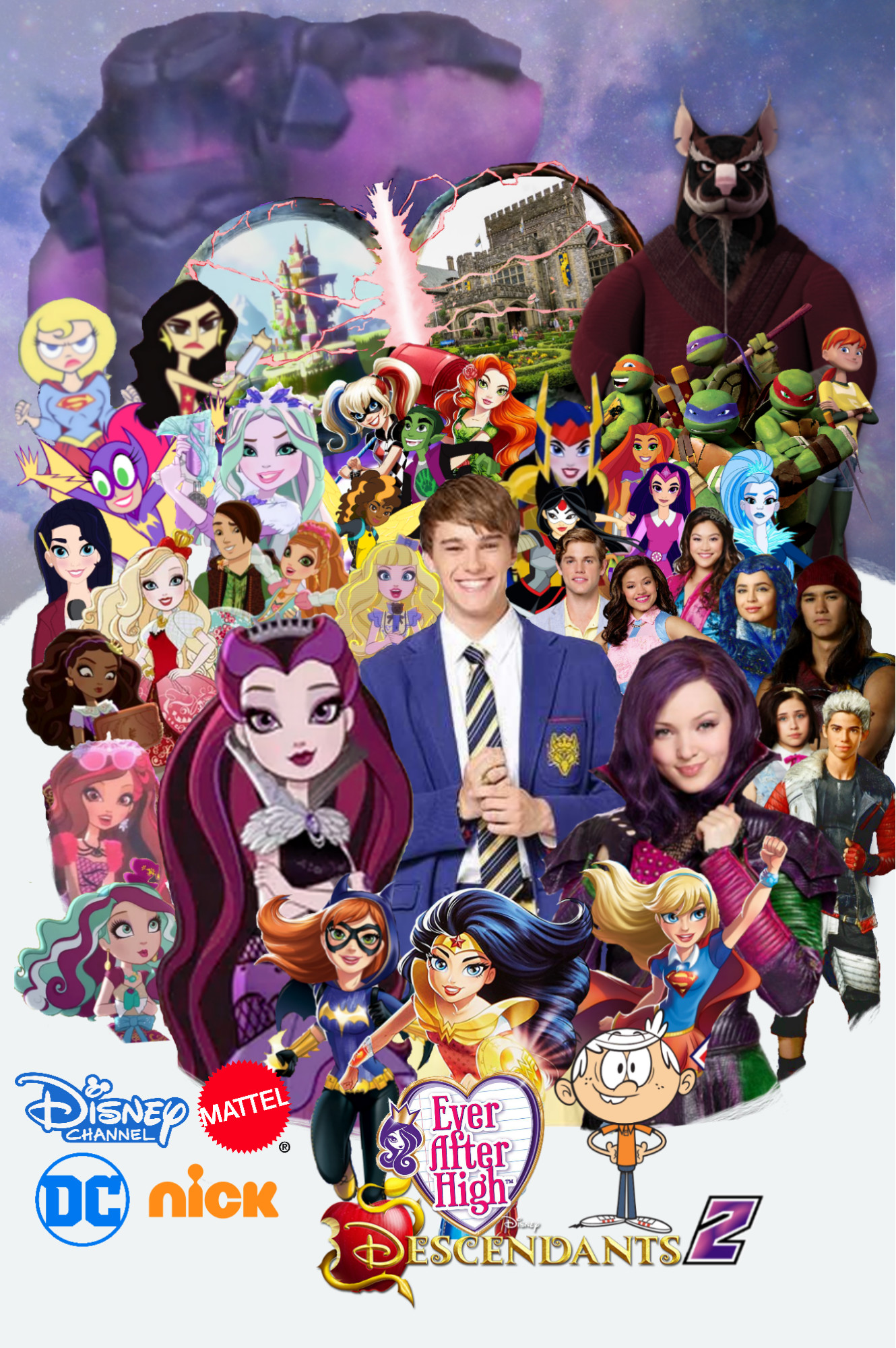 … AwesomeOKingGuy0123 Ever After High X Disney's Descendants 2 by  AwesomeOKingGuy0123