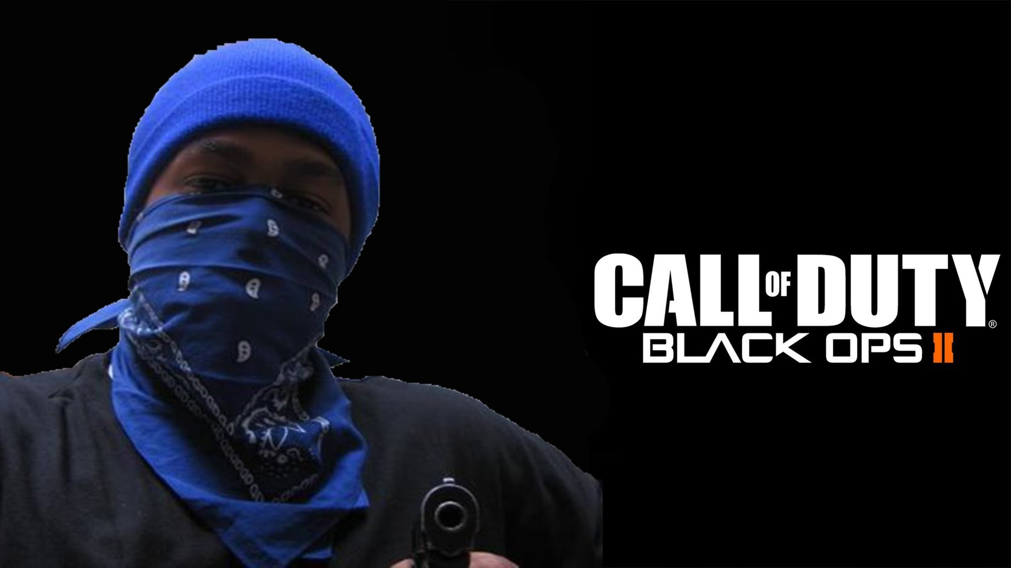 Black Ops 2 Real Crip Member In Black Ops 2 Session!