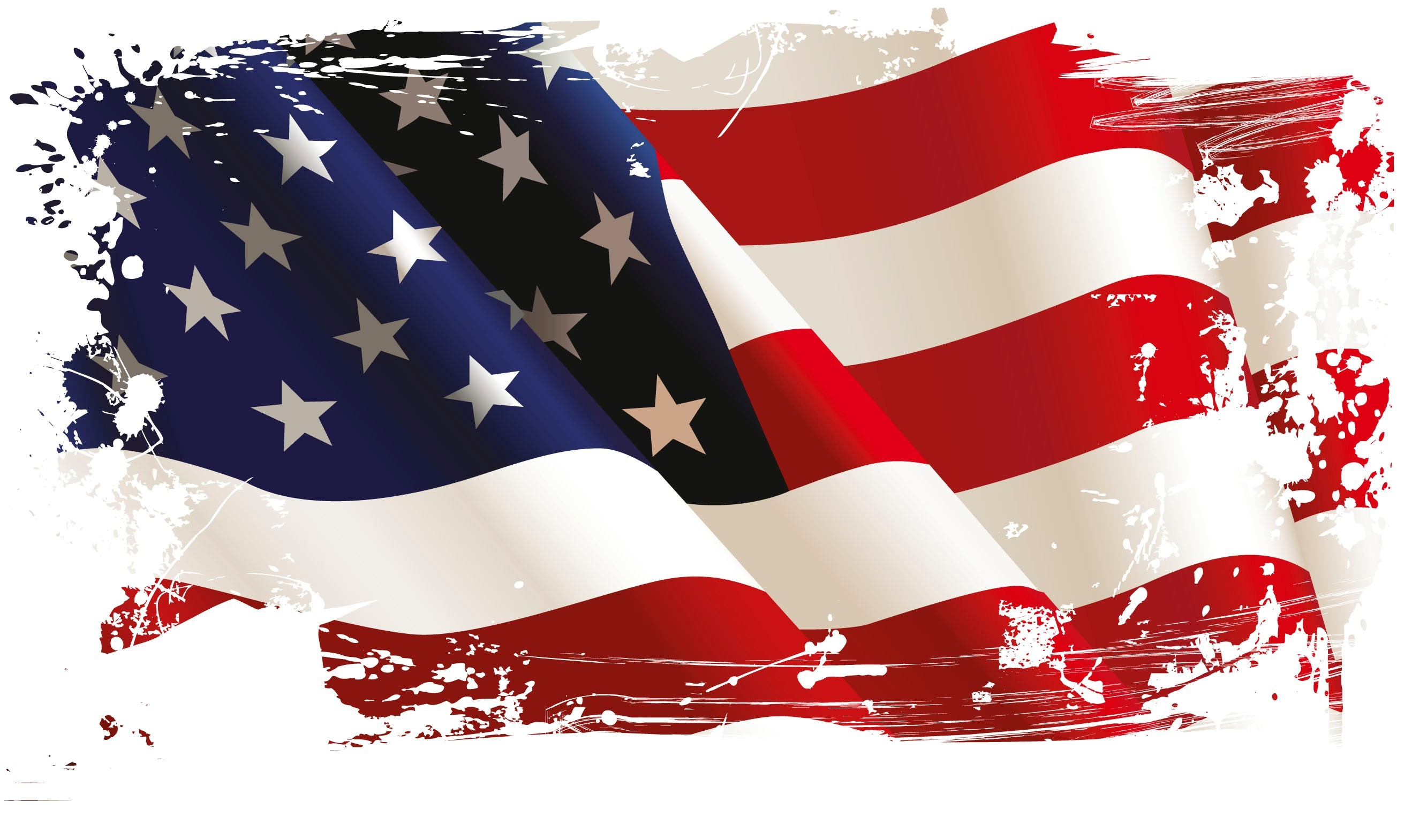 widescreen backgrounds american flag