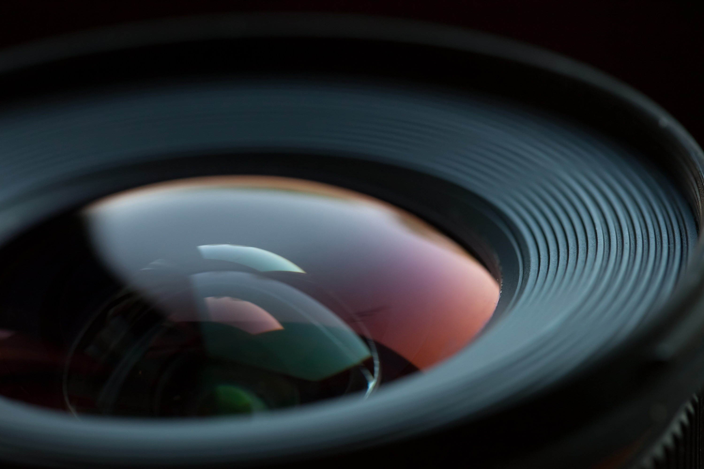 Wallpaper lens, optics, close-up, glare