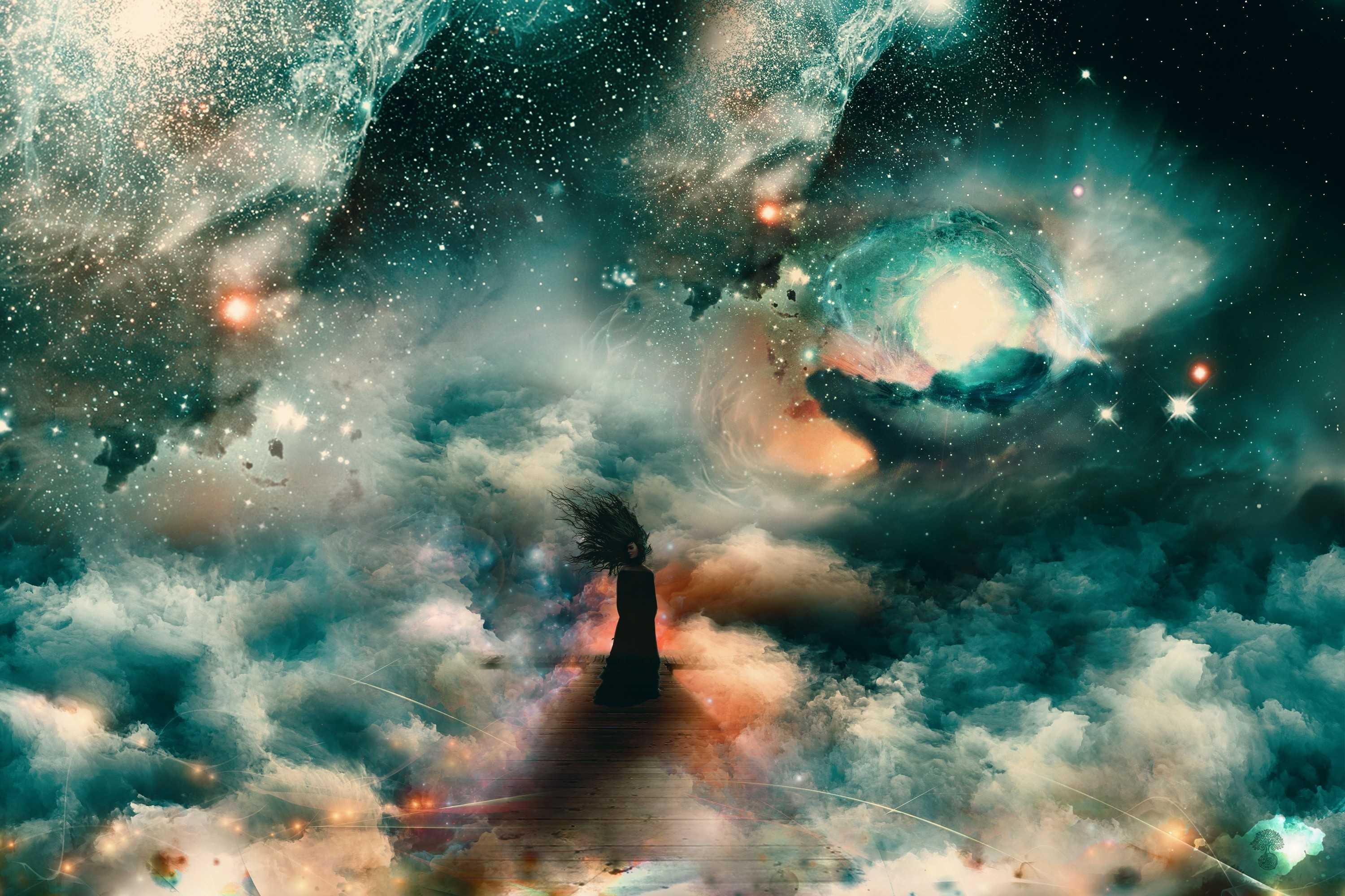 Space Clouds HD Wide Wallpaper for Widescreen (54 Wallpapers)