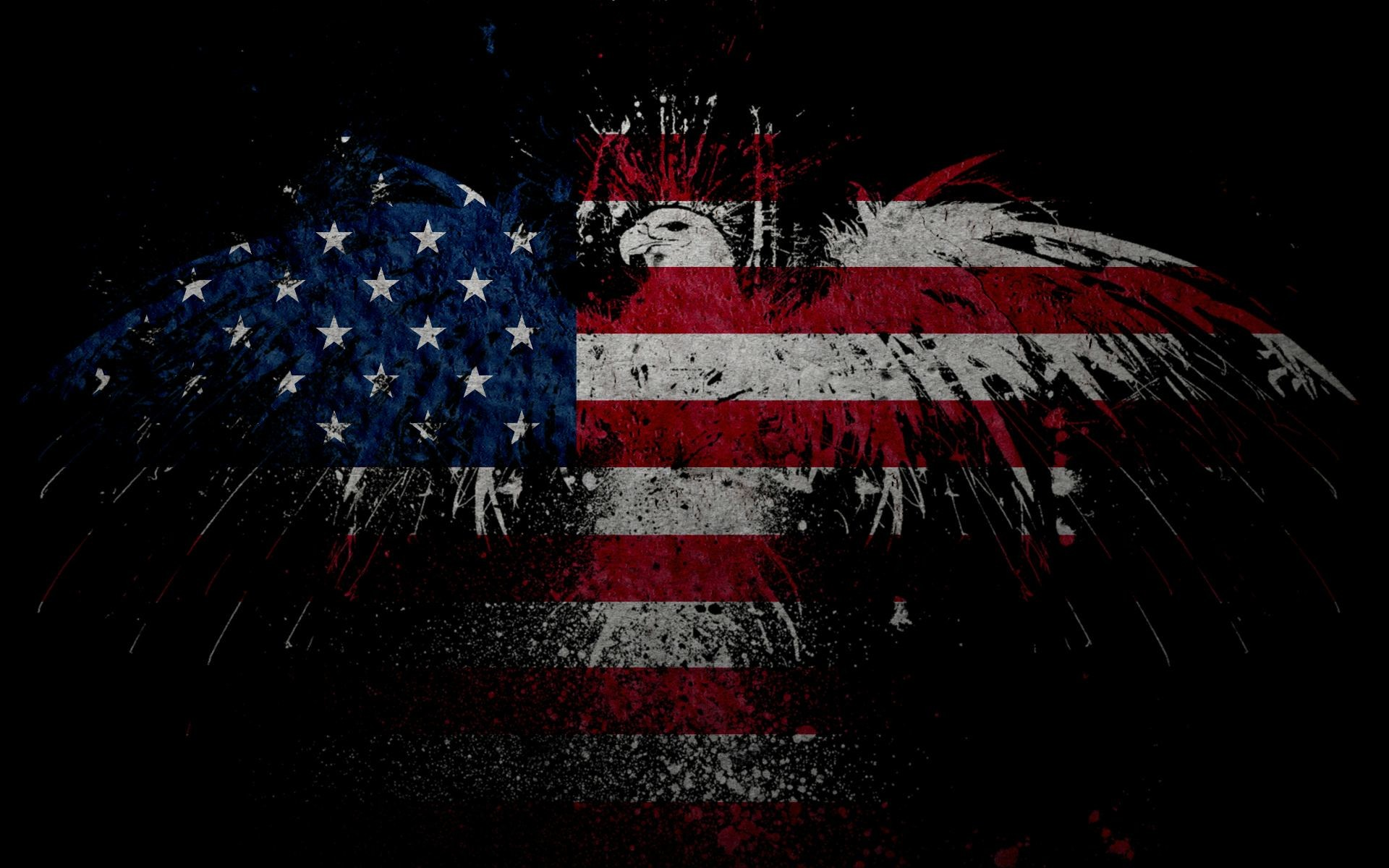 Found this badass American Eagle Flag Wallpaper while doing some 'Murican…