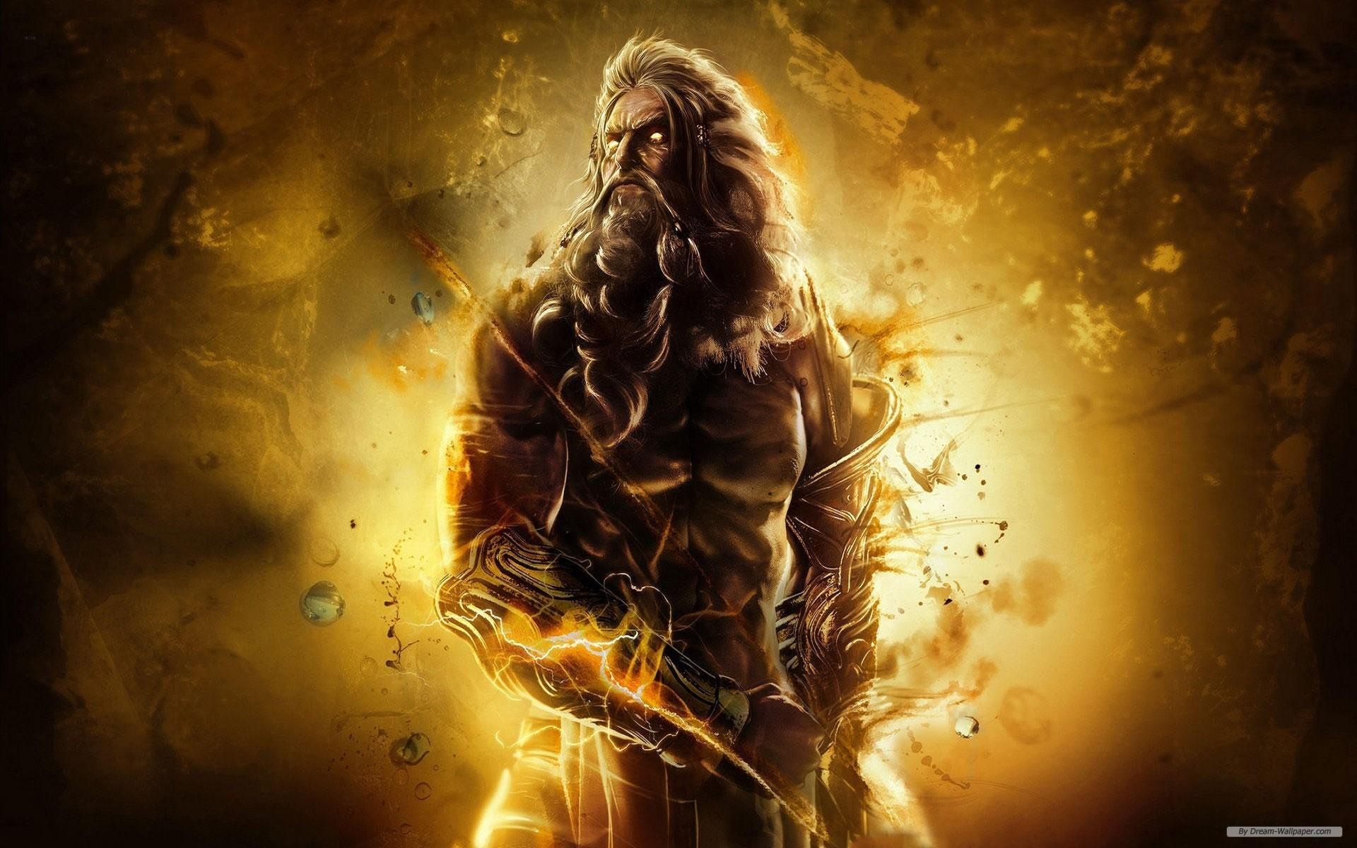 Zeus God Wallpaper God of war asc…