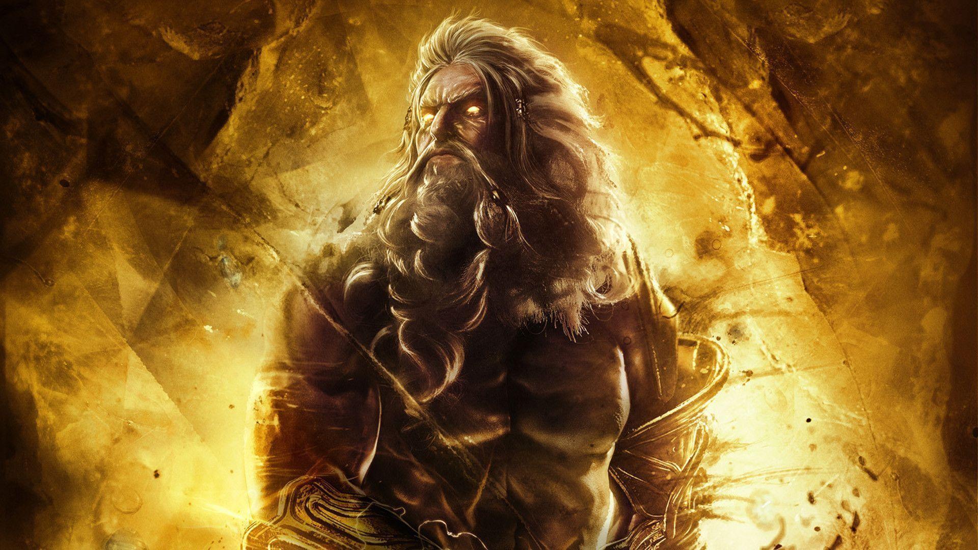 DeviantArt: More Like God of War: Ascension Zeus Wallpaper by xKirbz