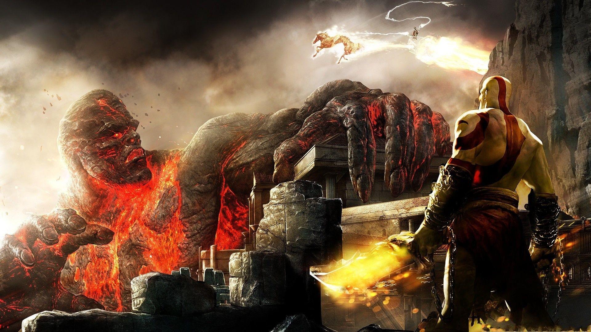 Wallpaper de Kratos HD – Taringa!