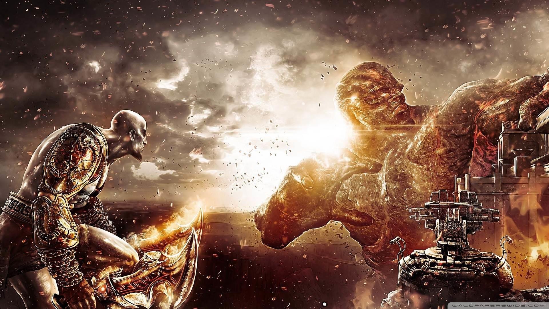 Games of War God Kratos Kratos god of war HD Wallpapers, Desktop 1920×1080