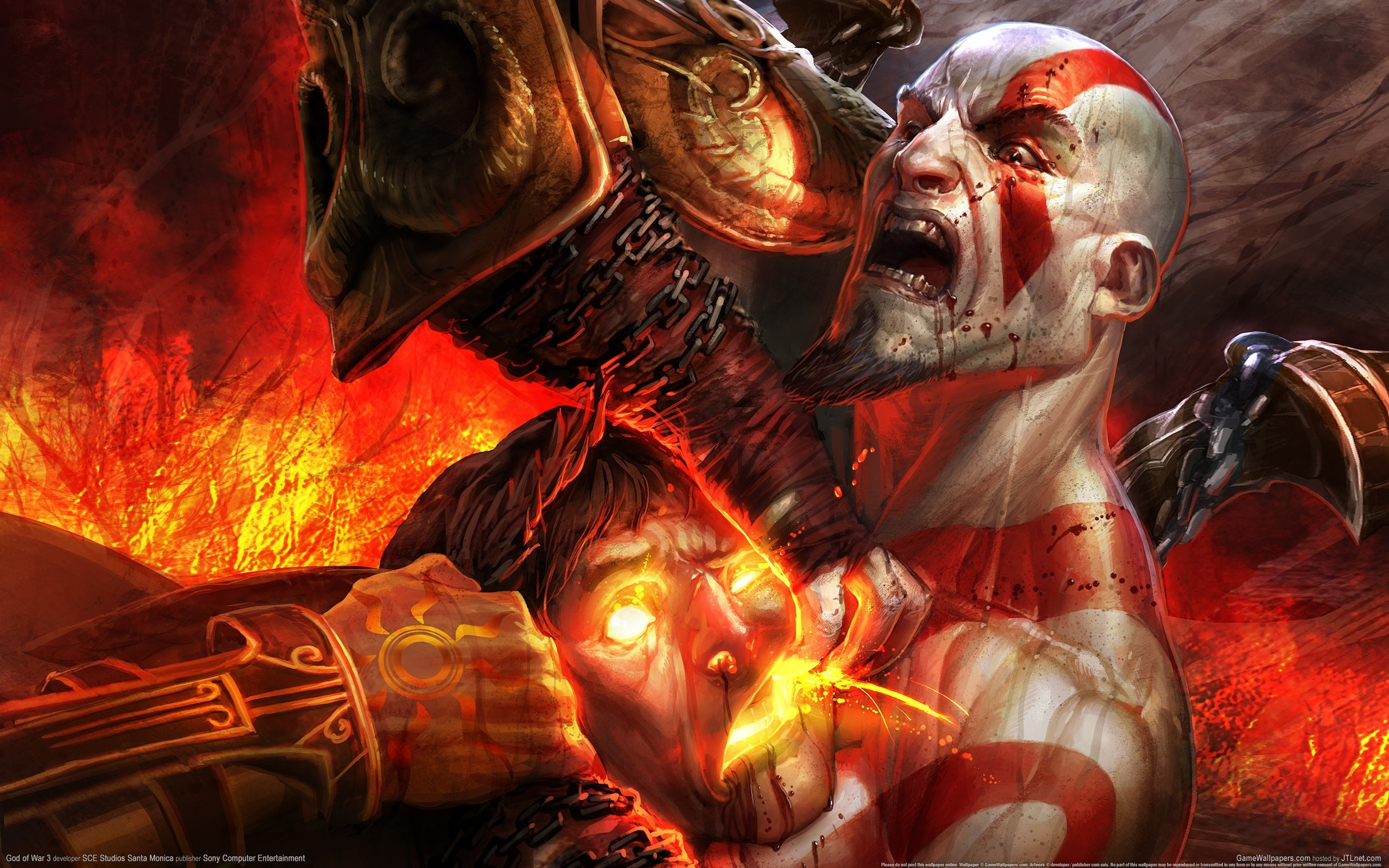 God of War Ares Kratos