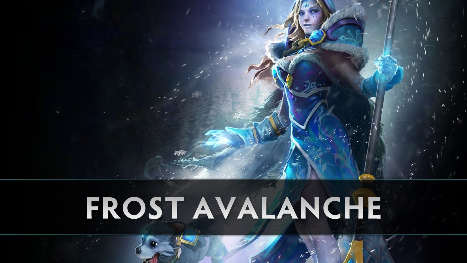 Dota 2 Crystal Maiden – Frost Avalanche – YouTube