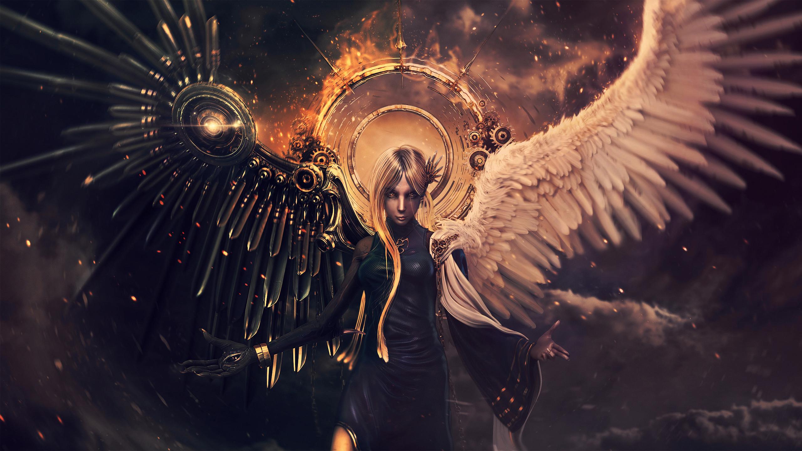 Angel And Demon wallpaper – 1063798