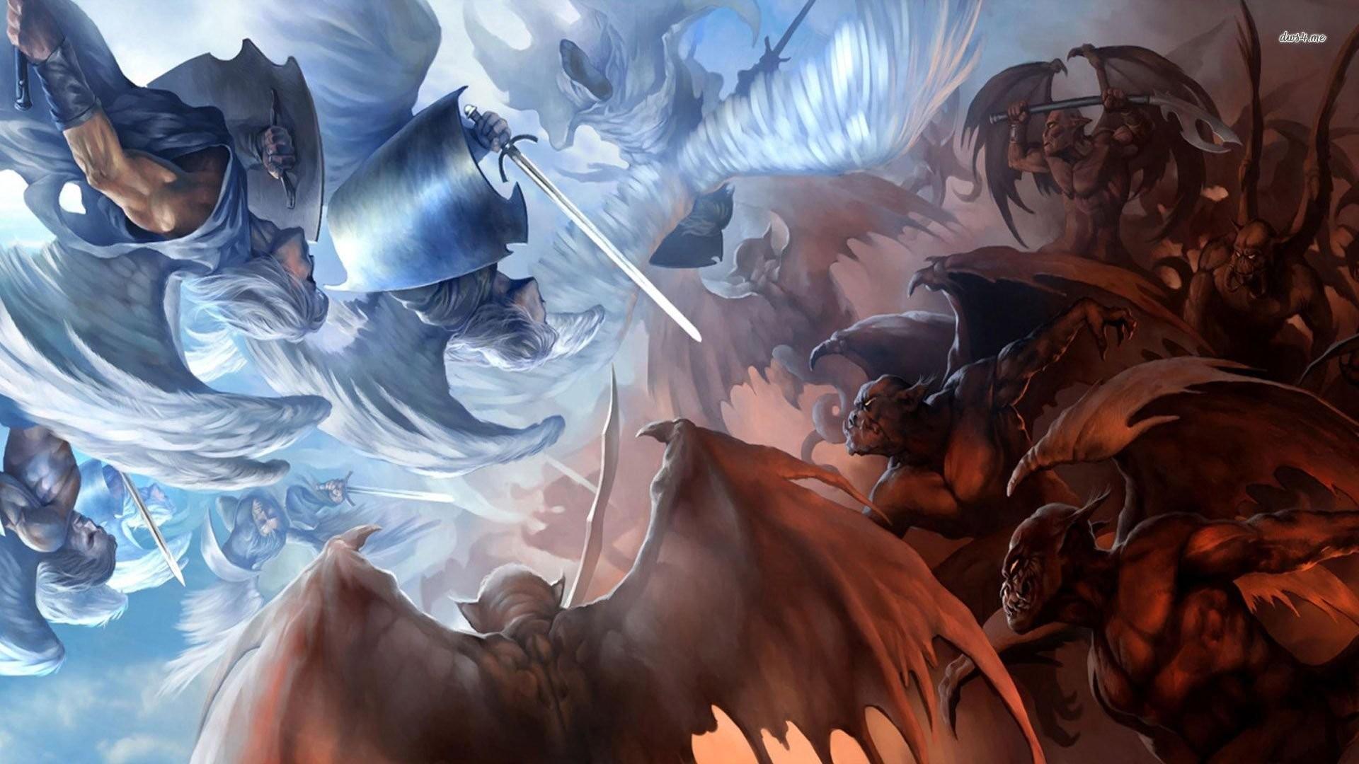 Angel Demon Wallpaper WallDevil