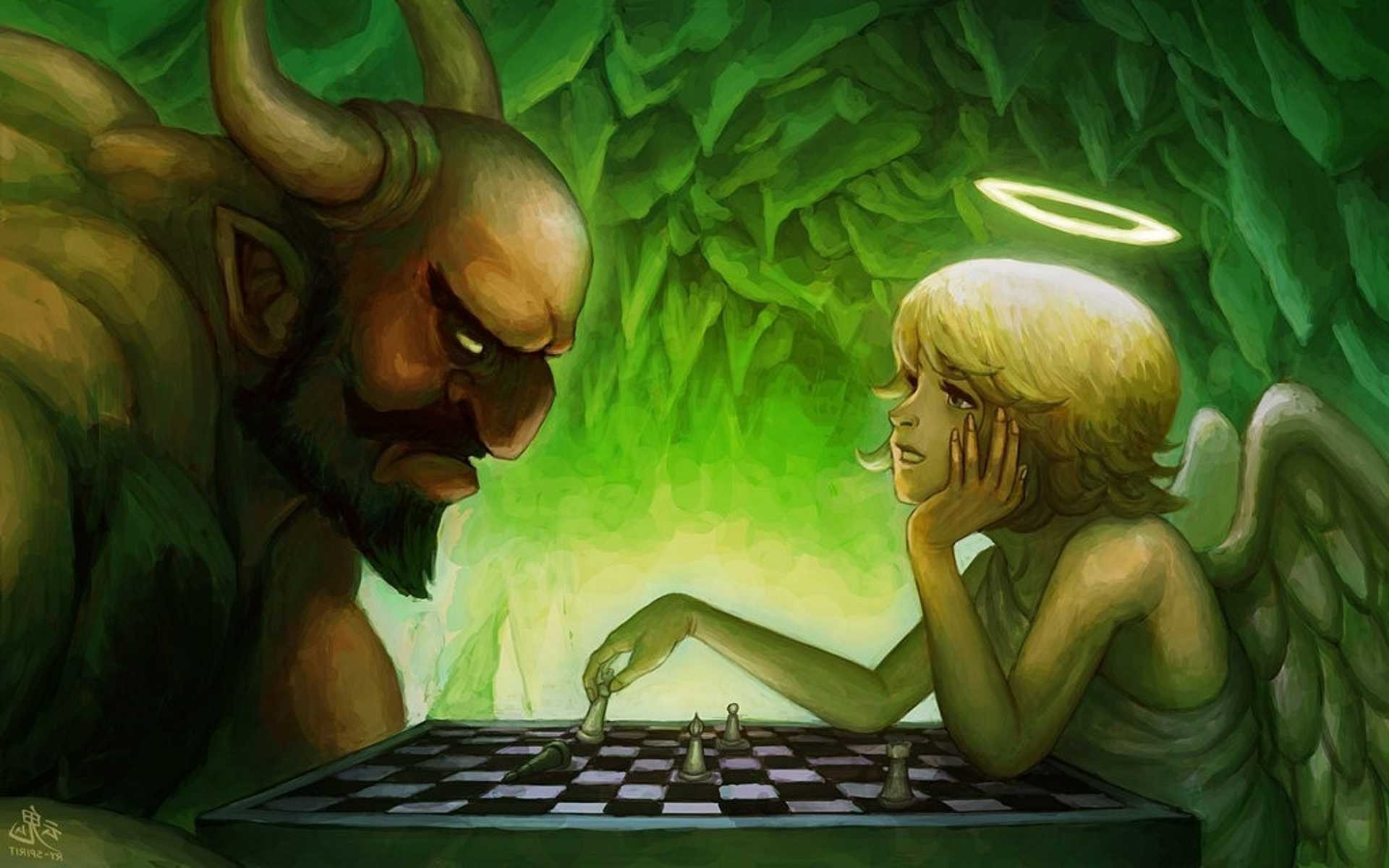 fantasy Art, Angel, Demon Wallpapers HD / Desktop and Mobile Backgrounds