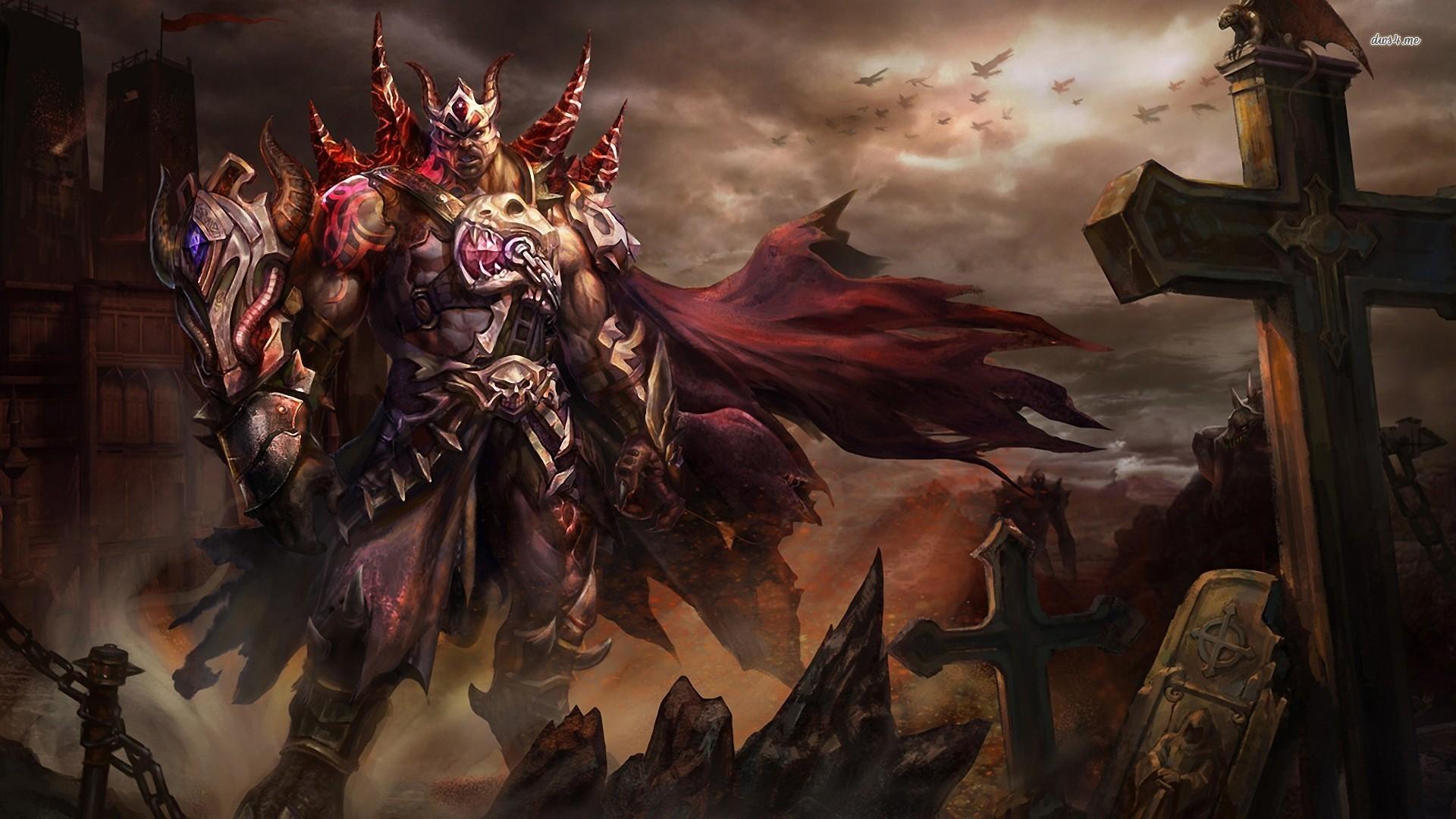 Demon warrior Fantasy HD desktop wallpaper, Warrior wallpaper, Demon  wallpaper – Fantasy no.