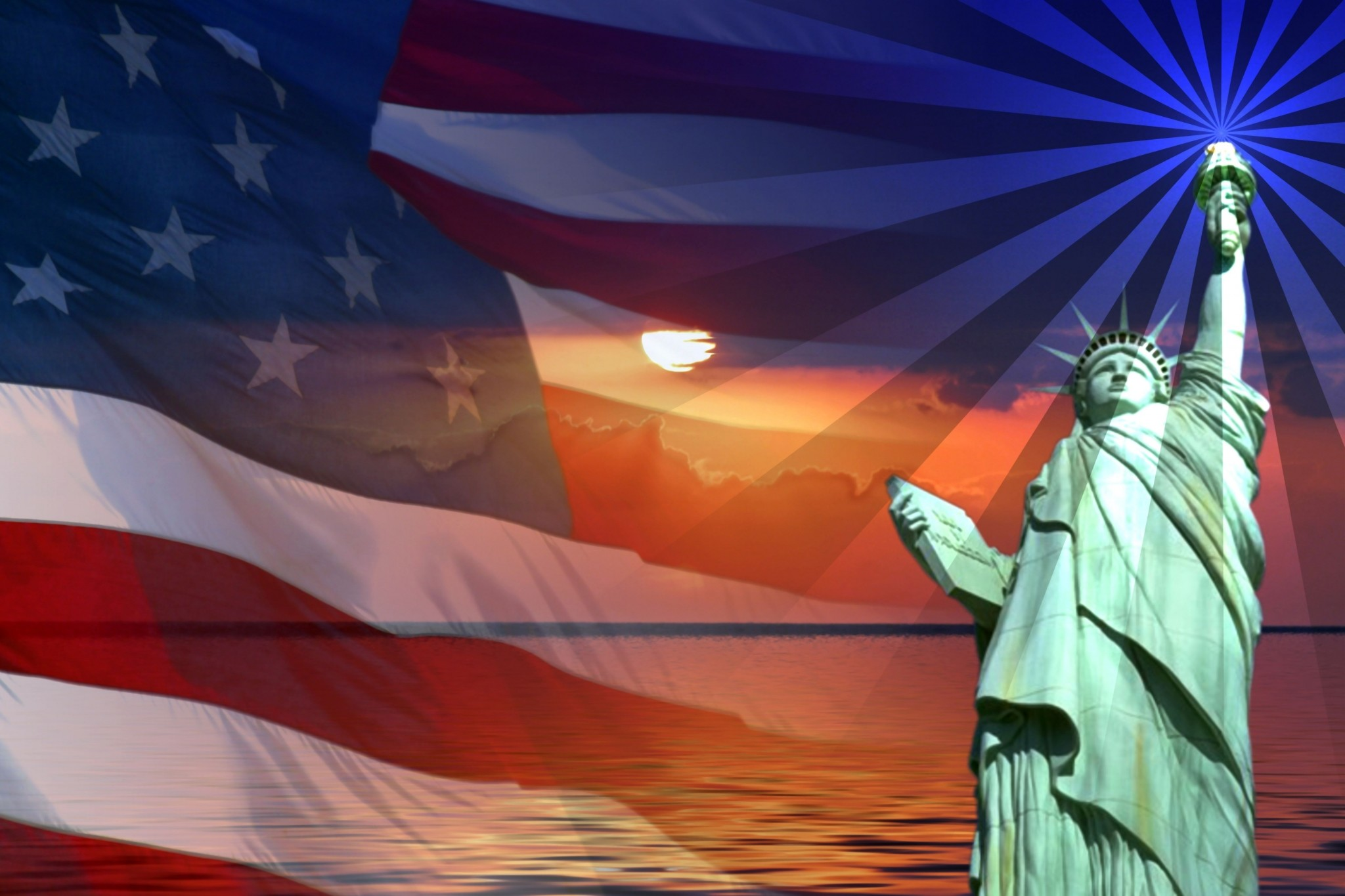 american flag pc backgrounds hd free