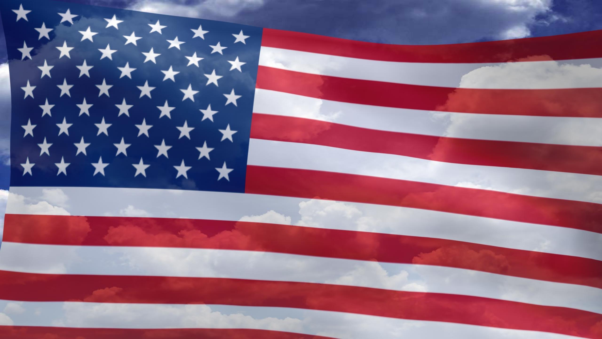 Desktop Flag 3D