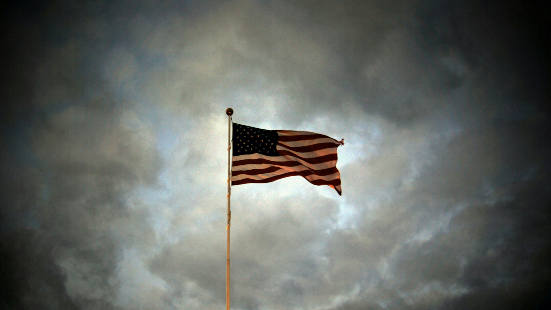 wallpaper flag american 1920×1080