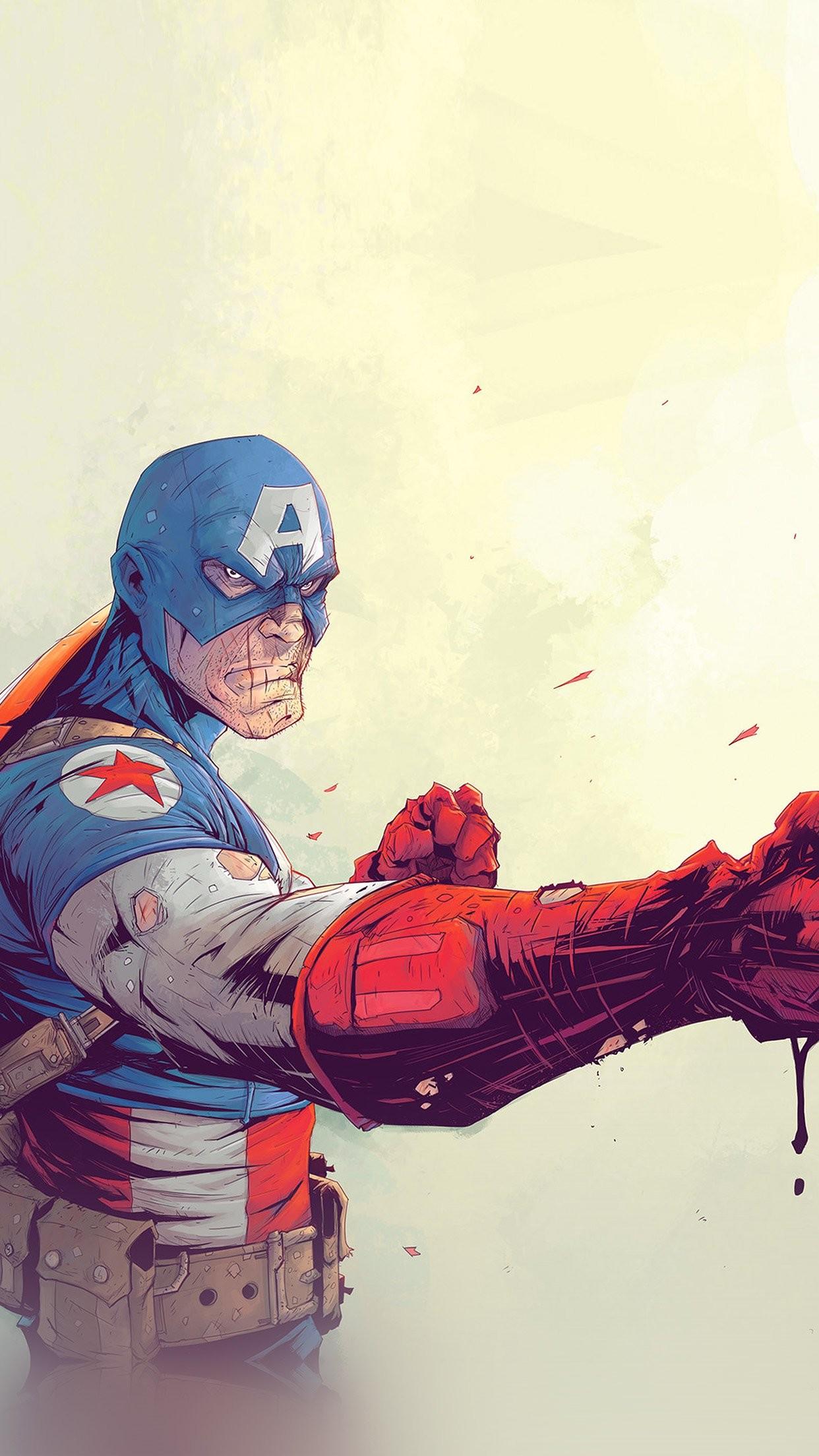 … american flag wallpapers wallpaper cave; download toronto revolver  ilration art anime hero captain …