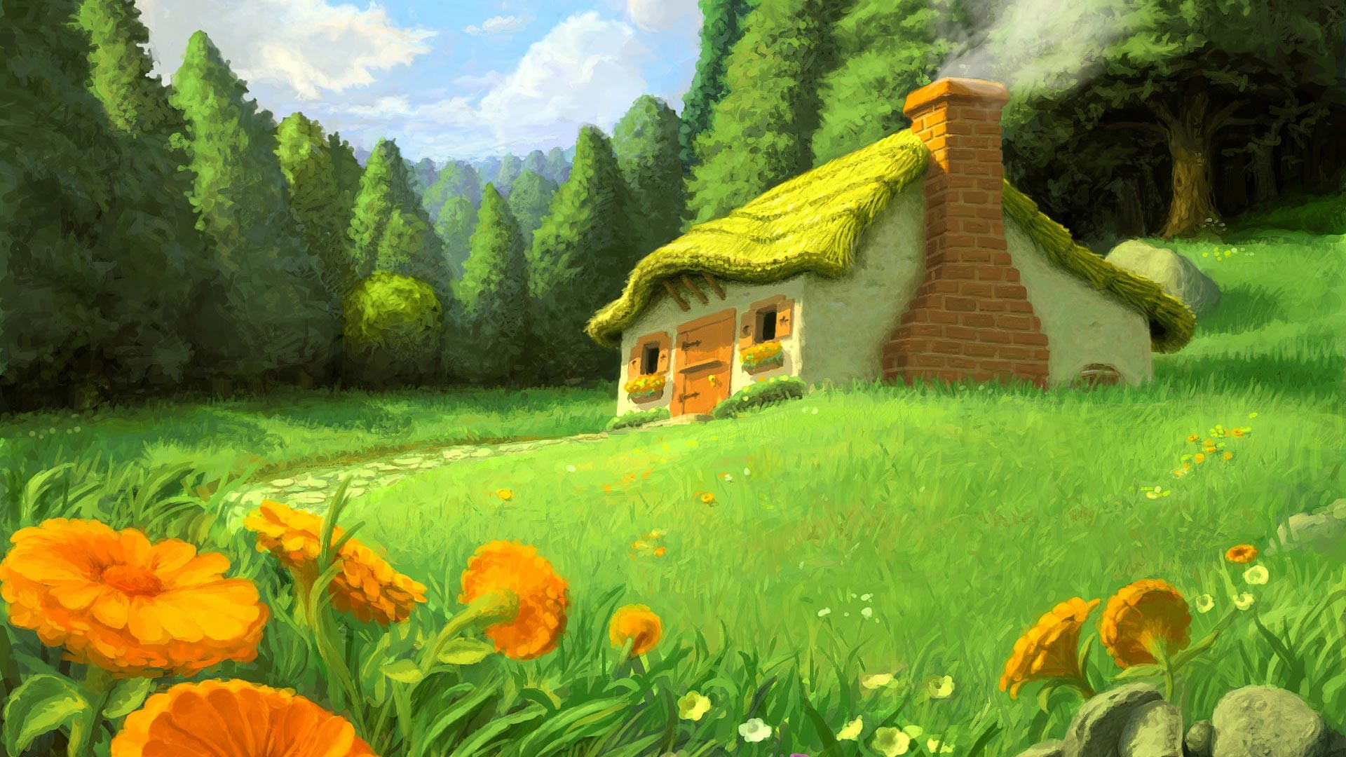 Images For > Fairy Garden Animated