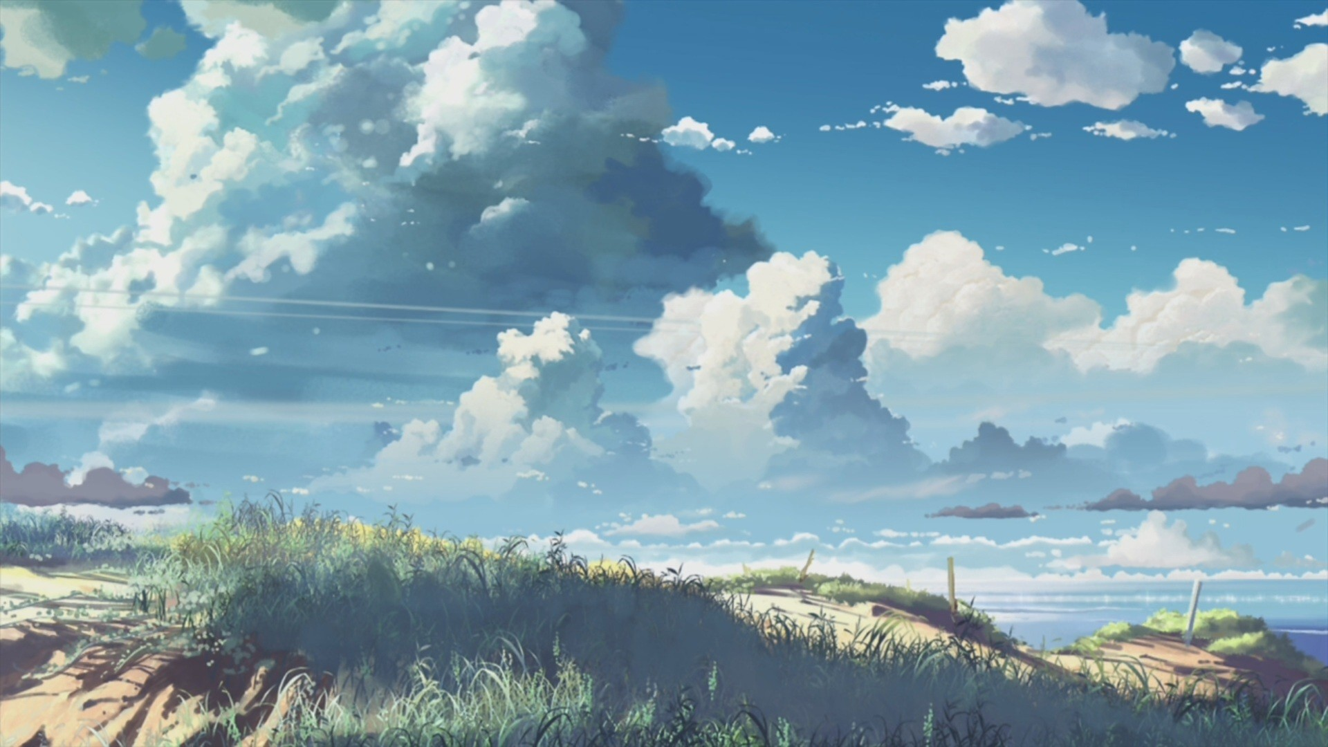 Image for Anime Scenery Background Wallpaper