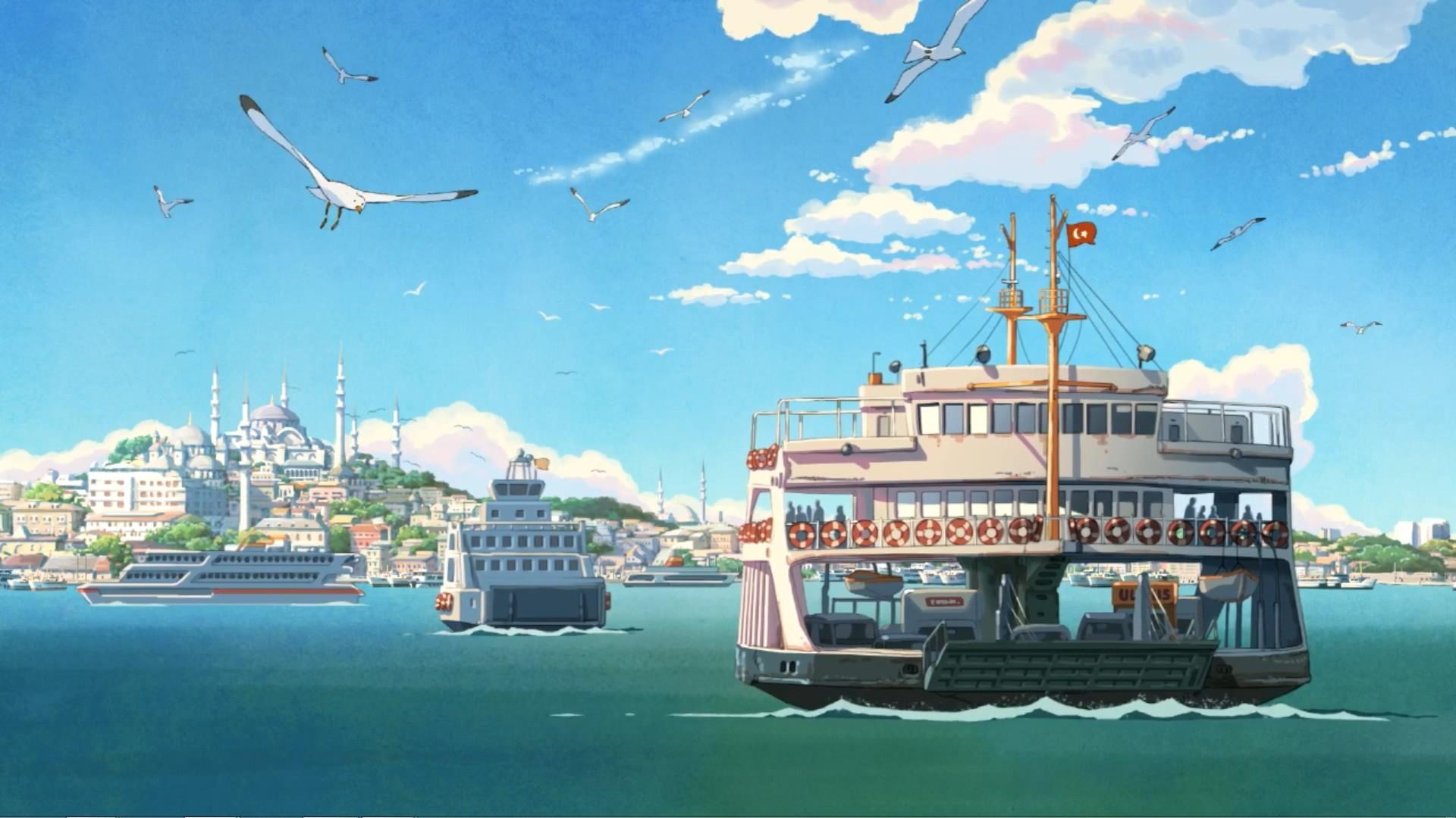 Anime Scenery · Scenery WallpaperHd WallpaperAnimation …