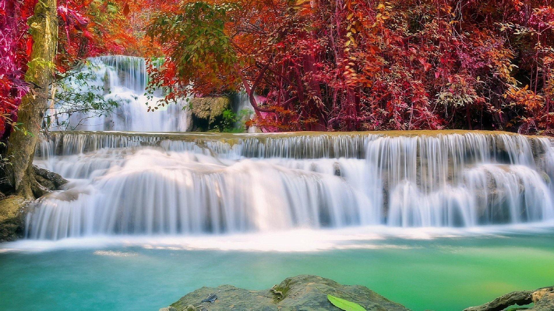 Downloaded Tag – Autumn Season Paradise Splendid Beautiful Four Waterfall  Attractions Plants Trees Stunning Pre Love