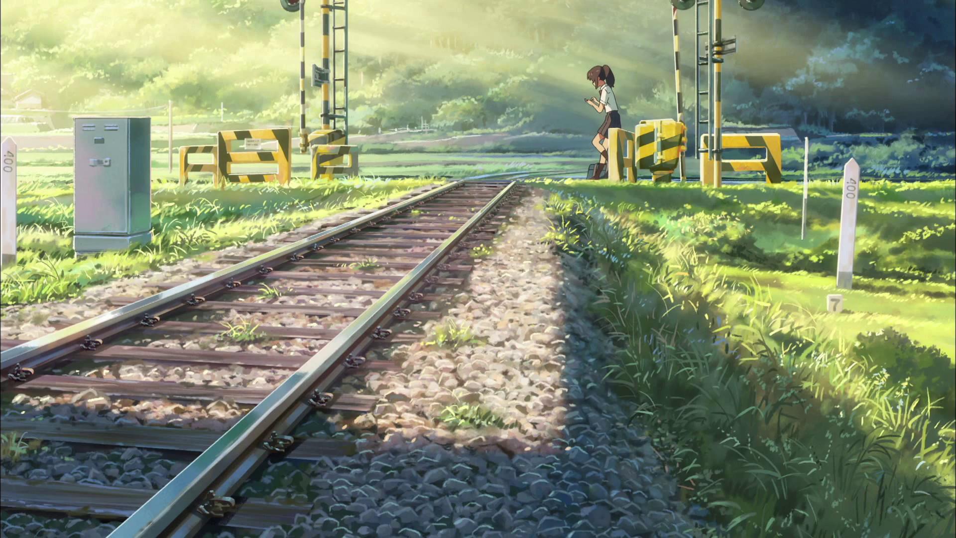 君の名は。 (Kimino Na Wa – your name) – Makoto Shinkai   Makoto Shinkai    Pinterest   Anime scenery, Anime and Animation