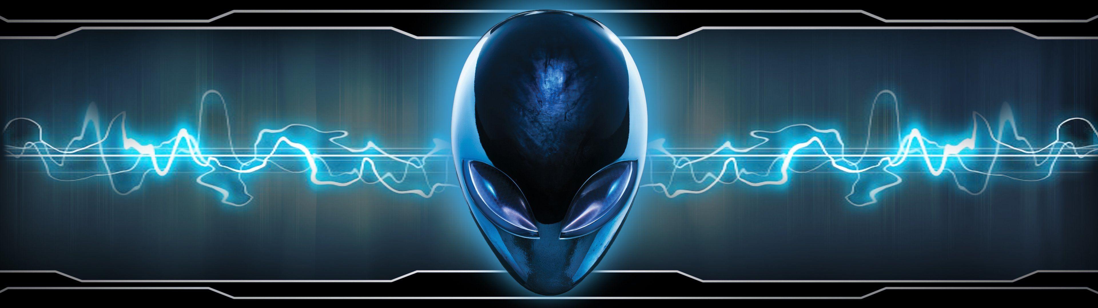 Dual monitor scrren multi multiple alien alienware wallpaper .