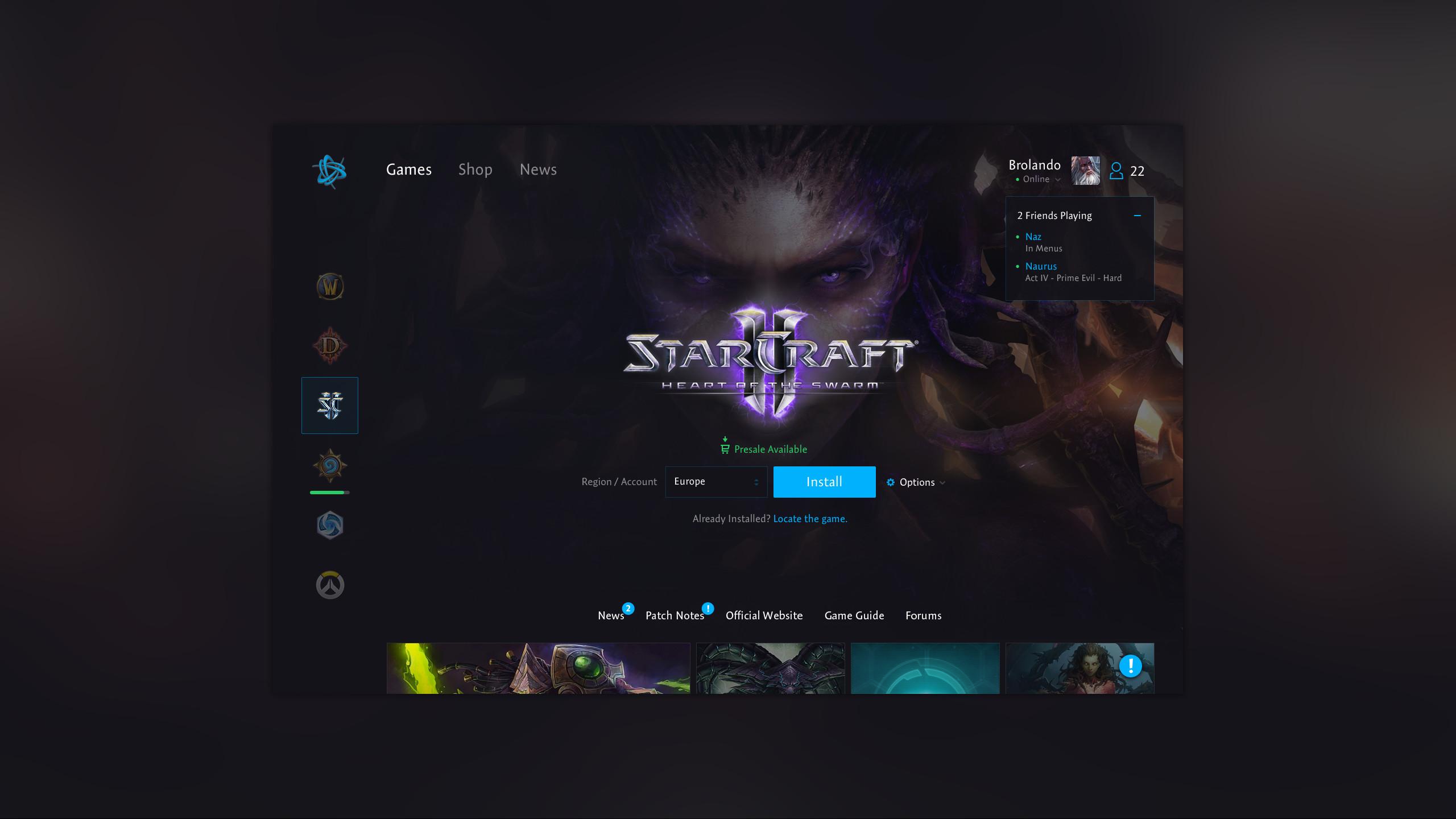 Battlenet starcraft app