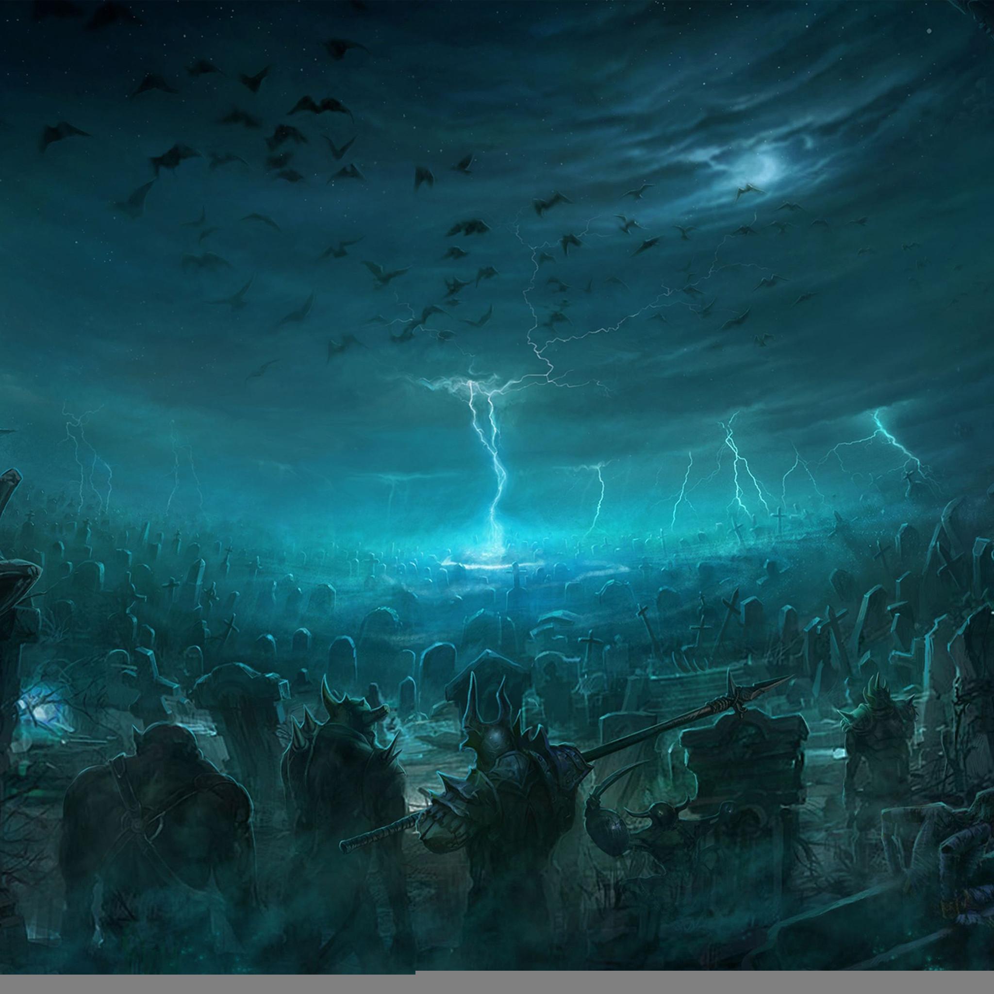 4442 2: Battle of the Immortals iPad wallpaper