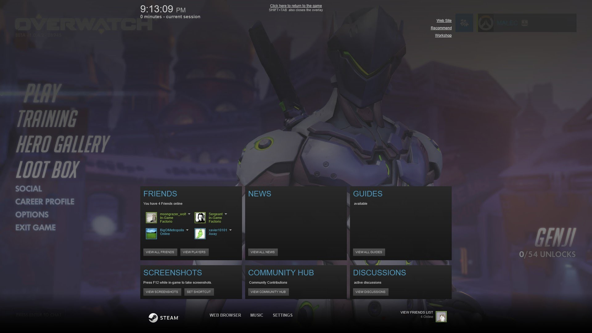 How to Use the Steam Overlay with the Battle.net Launcher (Heroes/S2 NOT  working) – YouTube