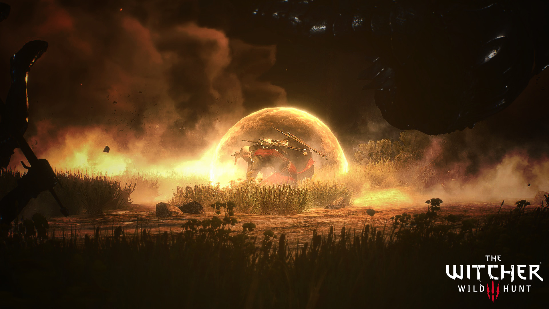 … Witcher 3 Wallpaper Kaer Morhen Battle by Jarminx
