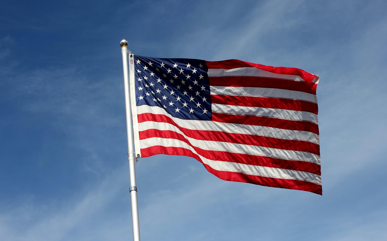 4K HD Wallpaper: USA Flag