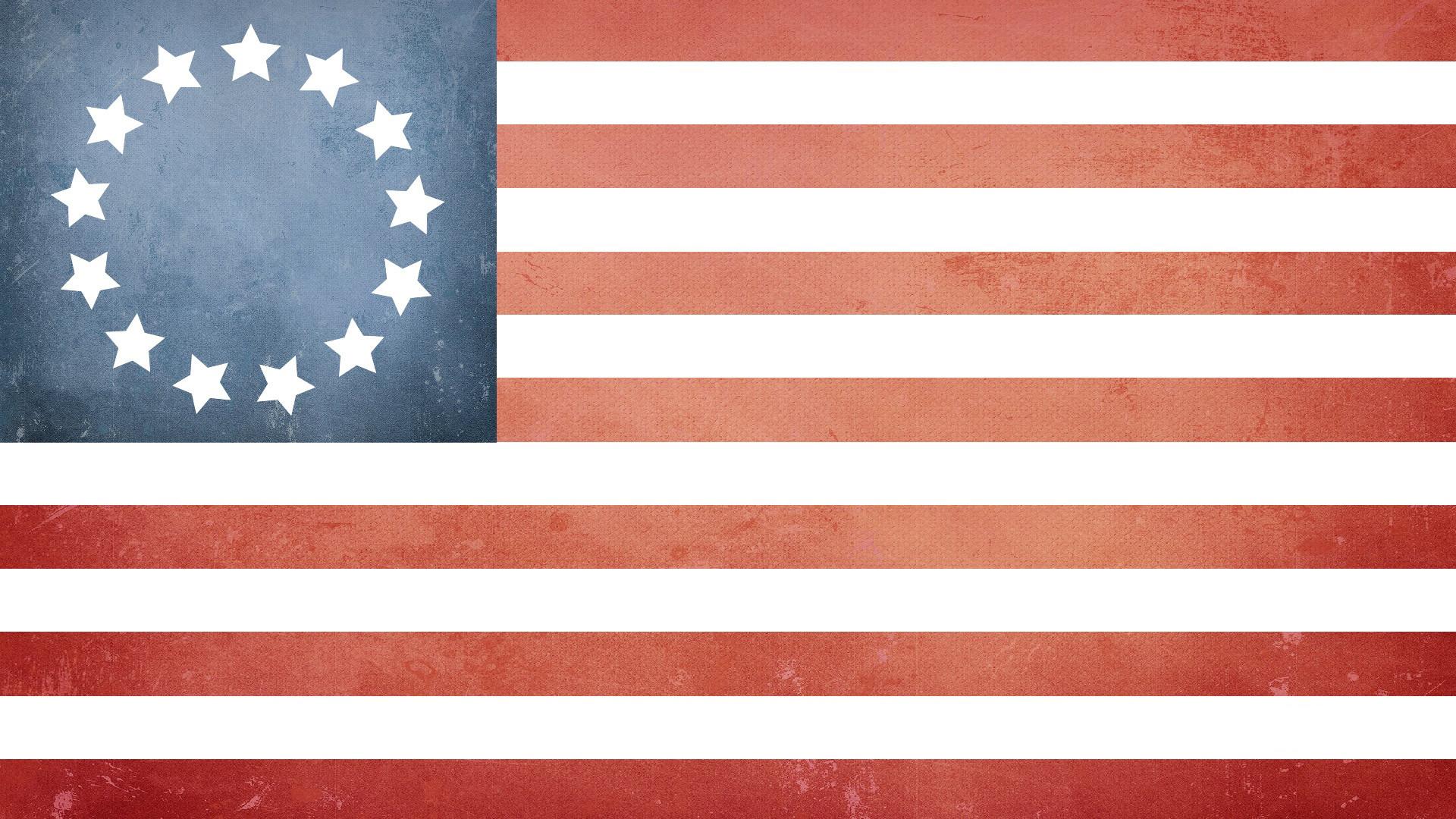13 Star US Flag