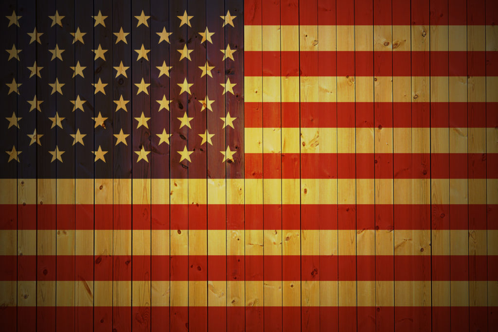 Man Made – American Flag United States USA Wallpaper