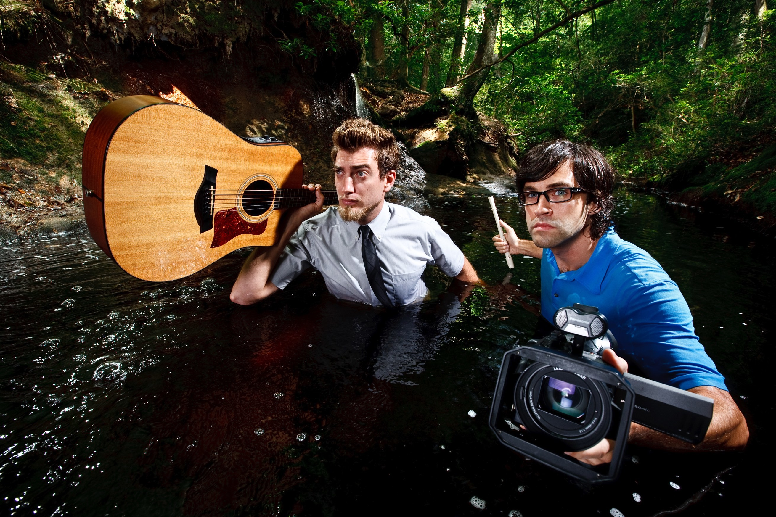 Rhett McLaughlin and Link Neal promotional shots. Overall, Good Mythical  Morning …