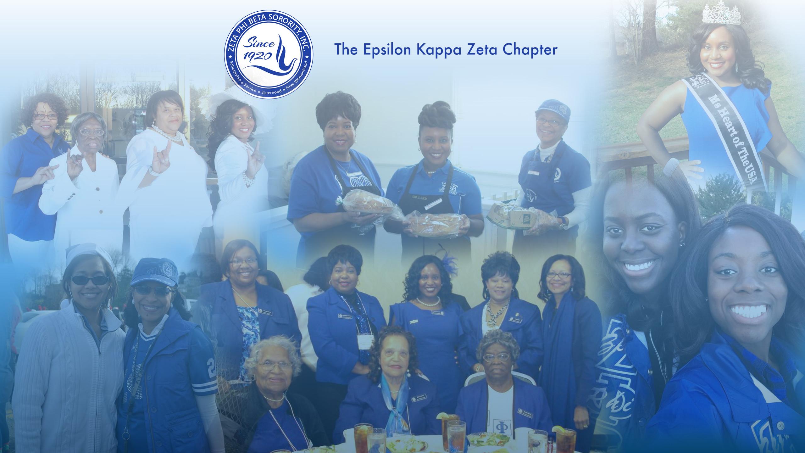 Epsilon Kappa Zeta Chapter of Zeta Phi Beta Sorority Inc. – Scholarship,  Sisterly Love, Service, Finer Womanhood