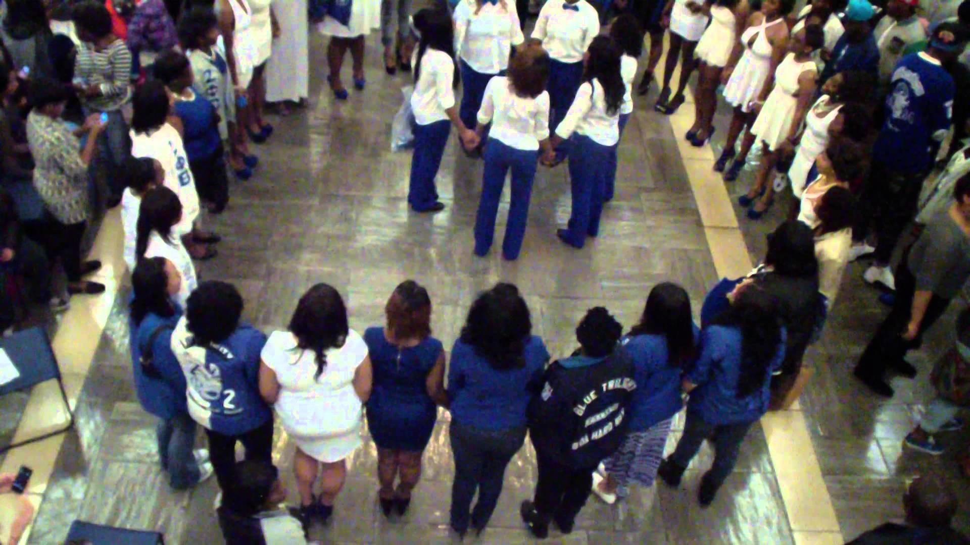 Zeta Phi Beta Pi Epsilon Chapter Spring 2014 Probate University of  Tennessee Knoxville Part 7