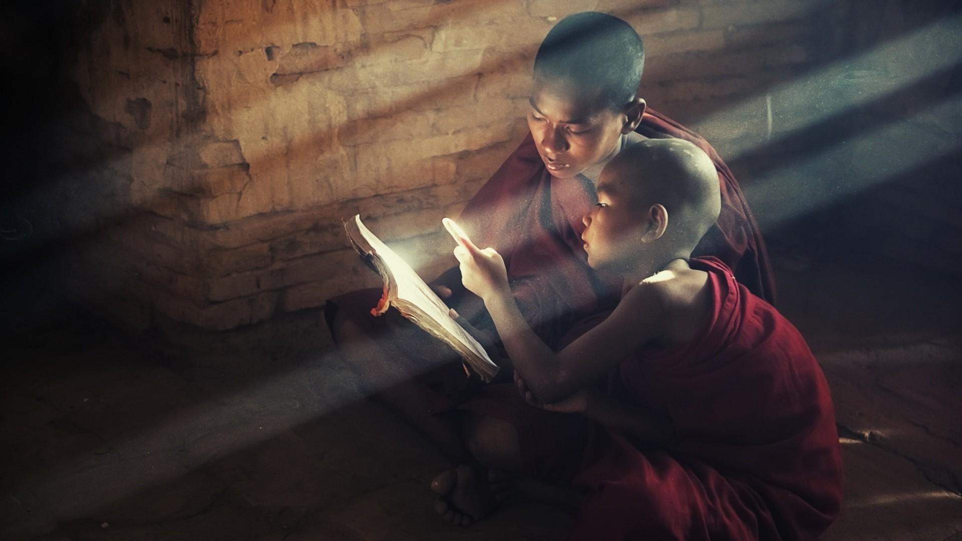 Wallpaper buddhism, buddha, disciples