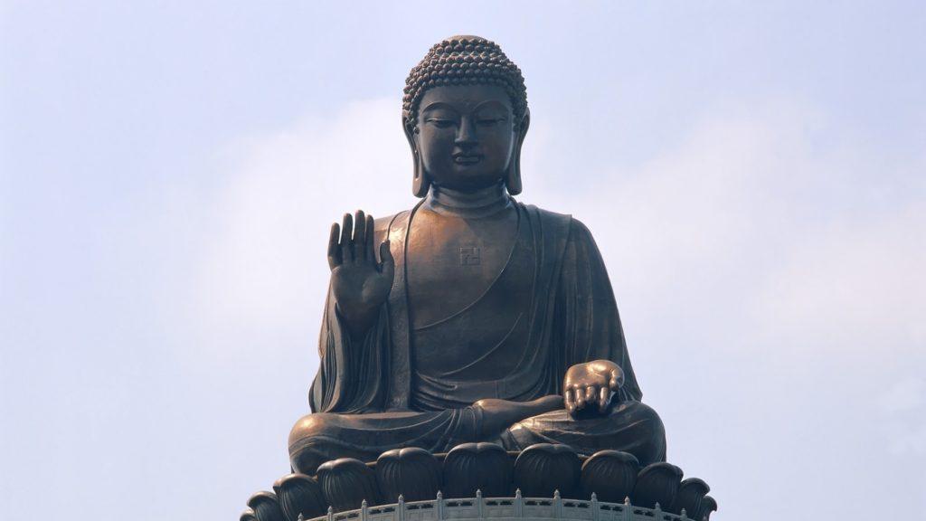 Wallpaper hong kong, buddha, people, landmark, statue, power