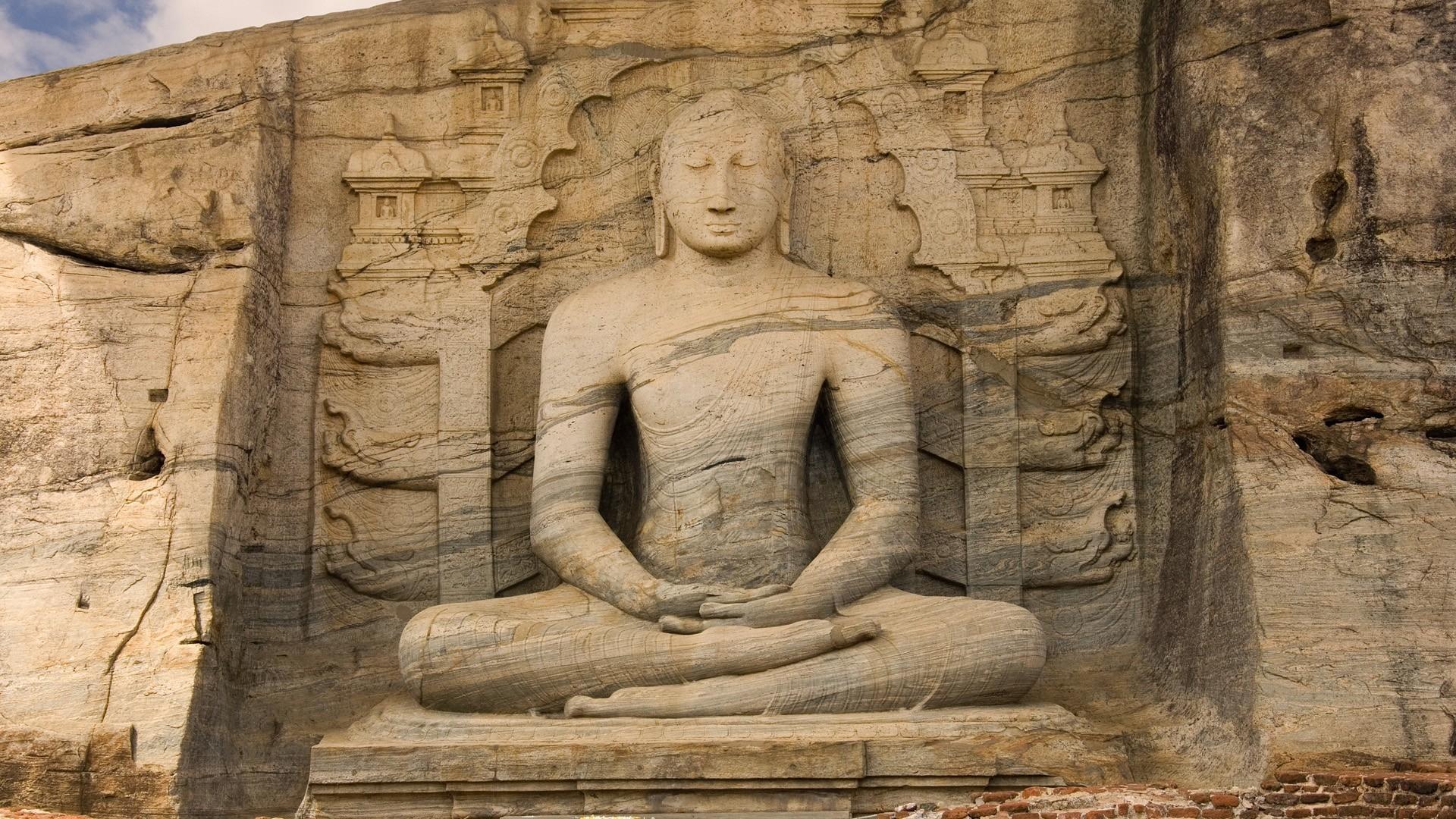 Buddha Statues Wallpaper Buddha, Statues, Sri, Lanka