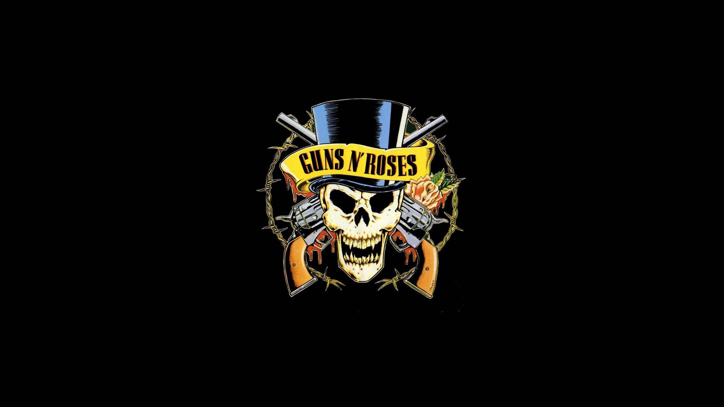 GUNS N ROSES heavy metal hair hard rock poster dark skull weapon gun  wallpaper | | 326098 | WallpaperUP